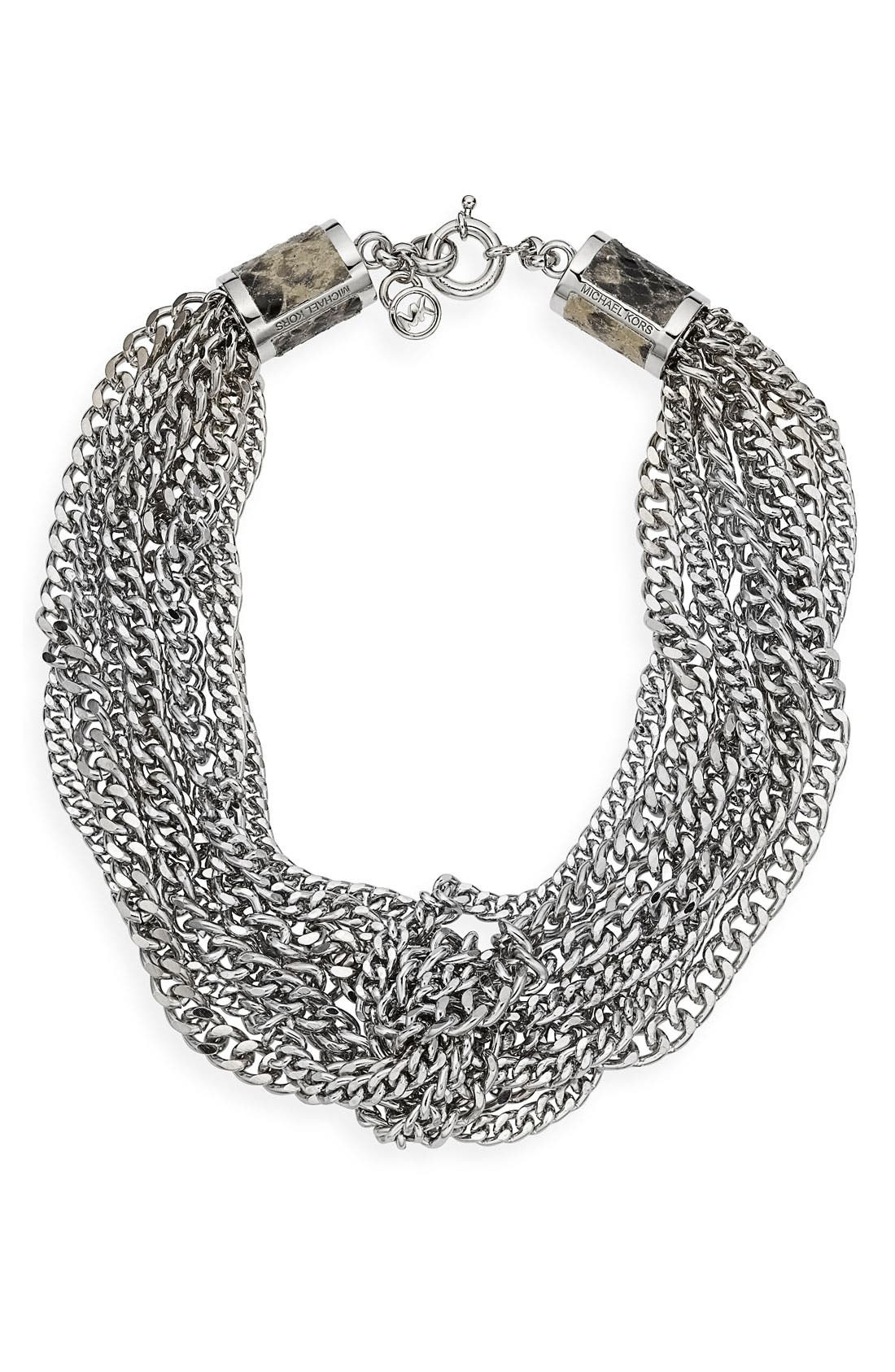 Alternate Image 1 Selected - Michael Kors Multi Chain Necklace