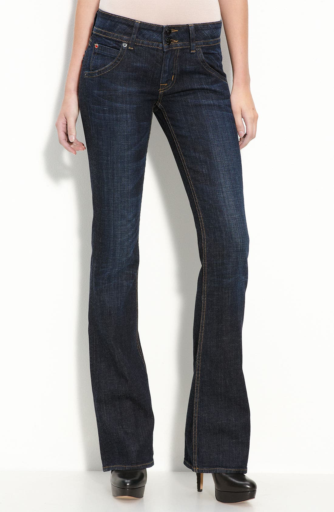 Main Image - Hudson Jeans Triangle Pocket Bootcut Stretch Jeans (Loving Cup Wash)