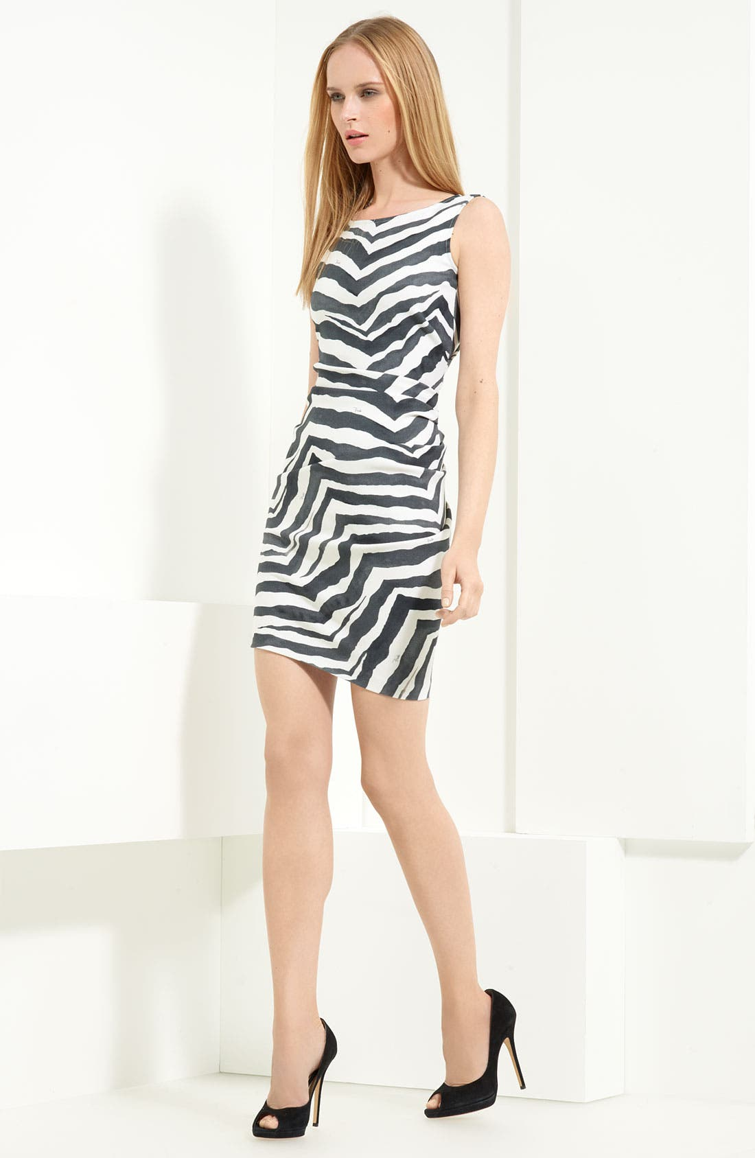Alternate Image 1 Selected - Emilio Pucci Stretch Wool Blend Dress