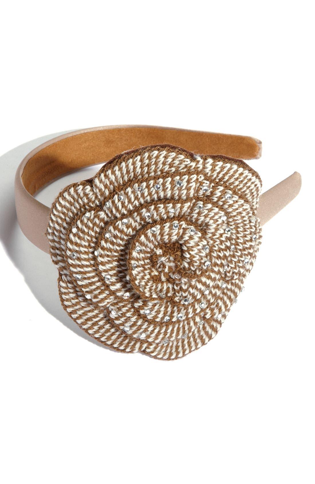 Alternate Image 1 Selected - Tasha 'Knit Flower' Headband