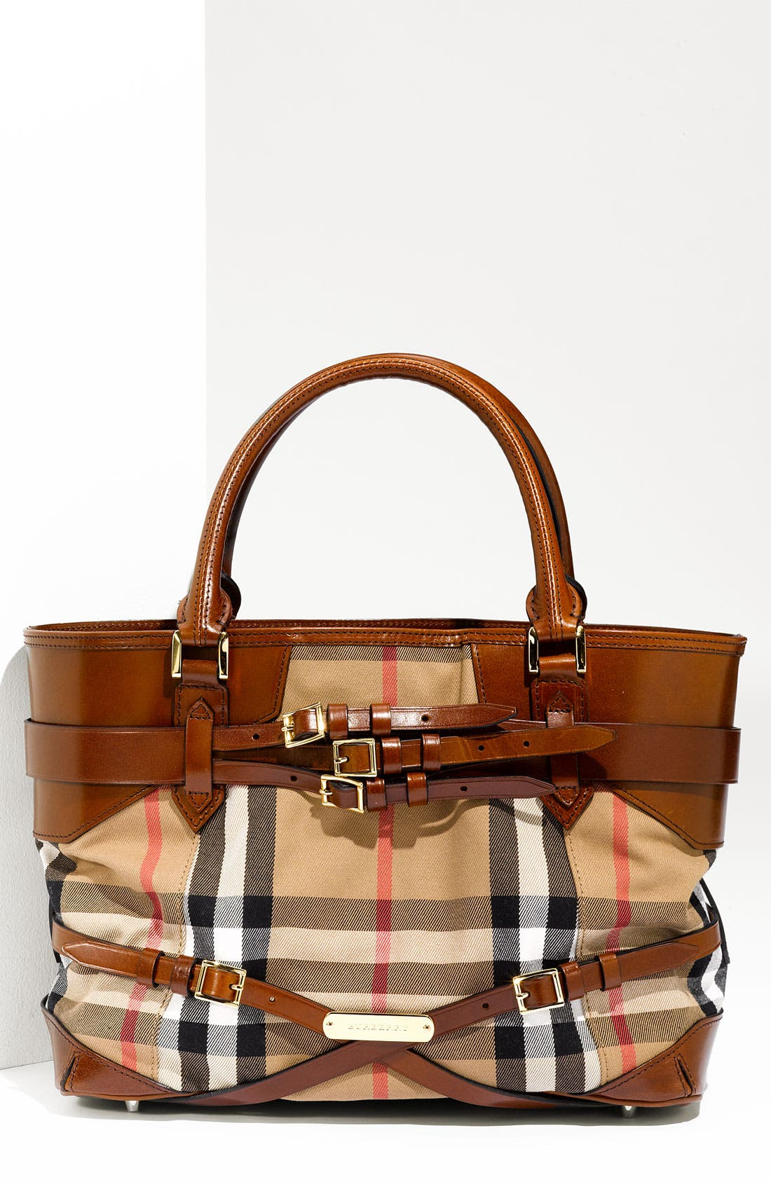Main Image - Burberry 'House Check' Tote, Large