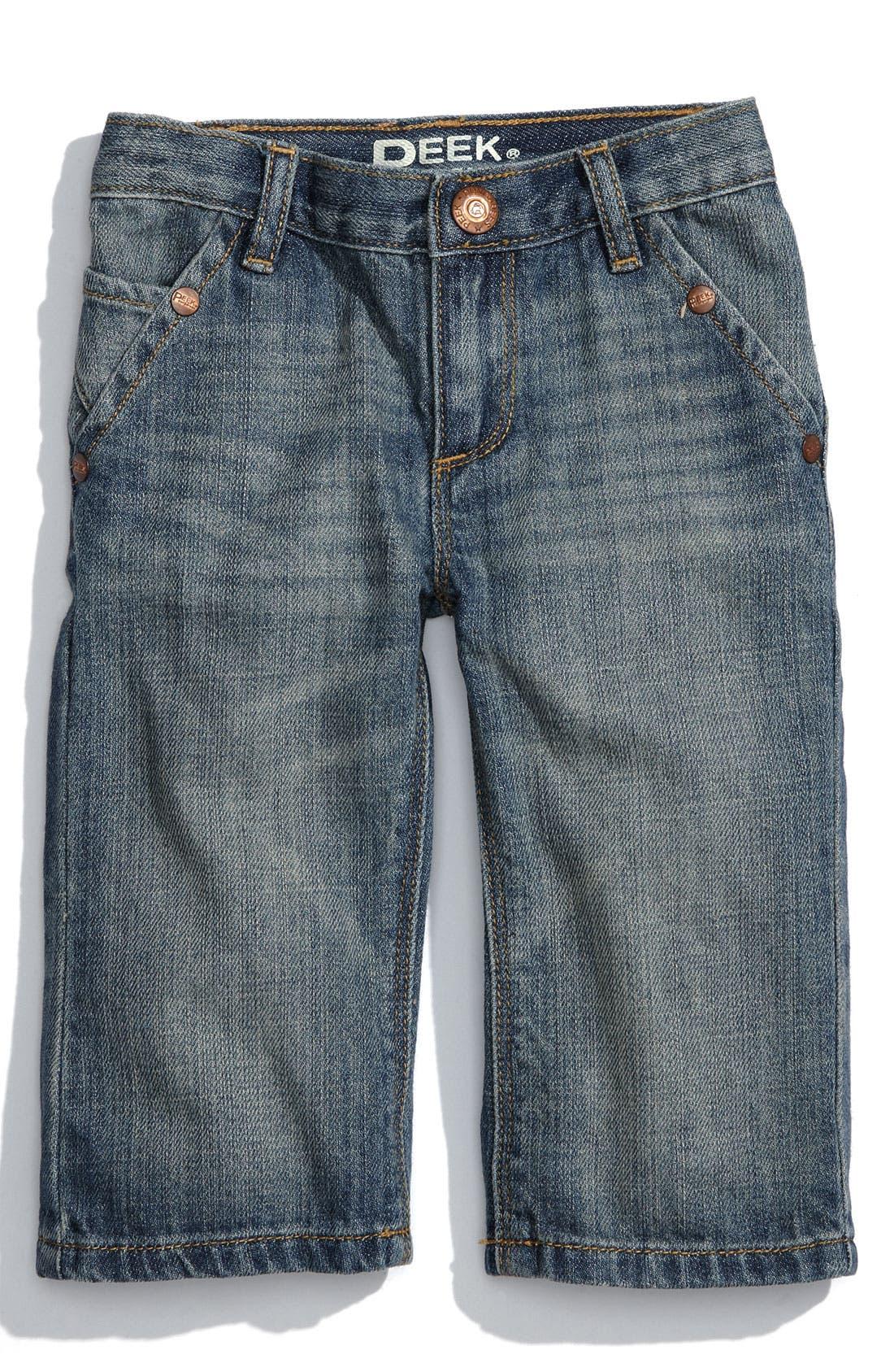 Alternate Image 2  - Peek 'Big Peanut' Jeans (Infant)