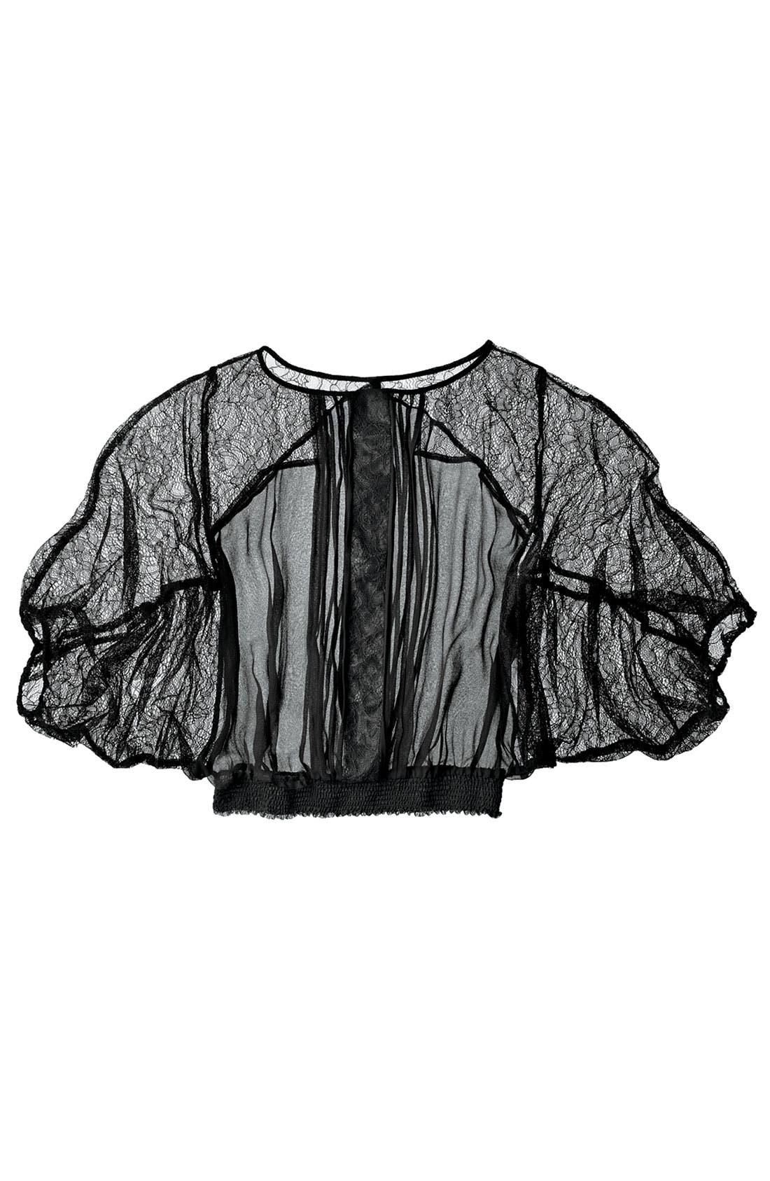 Alternate Image 3  - Bellatrix Lace & Chiffon Top