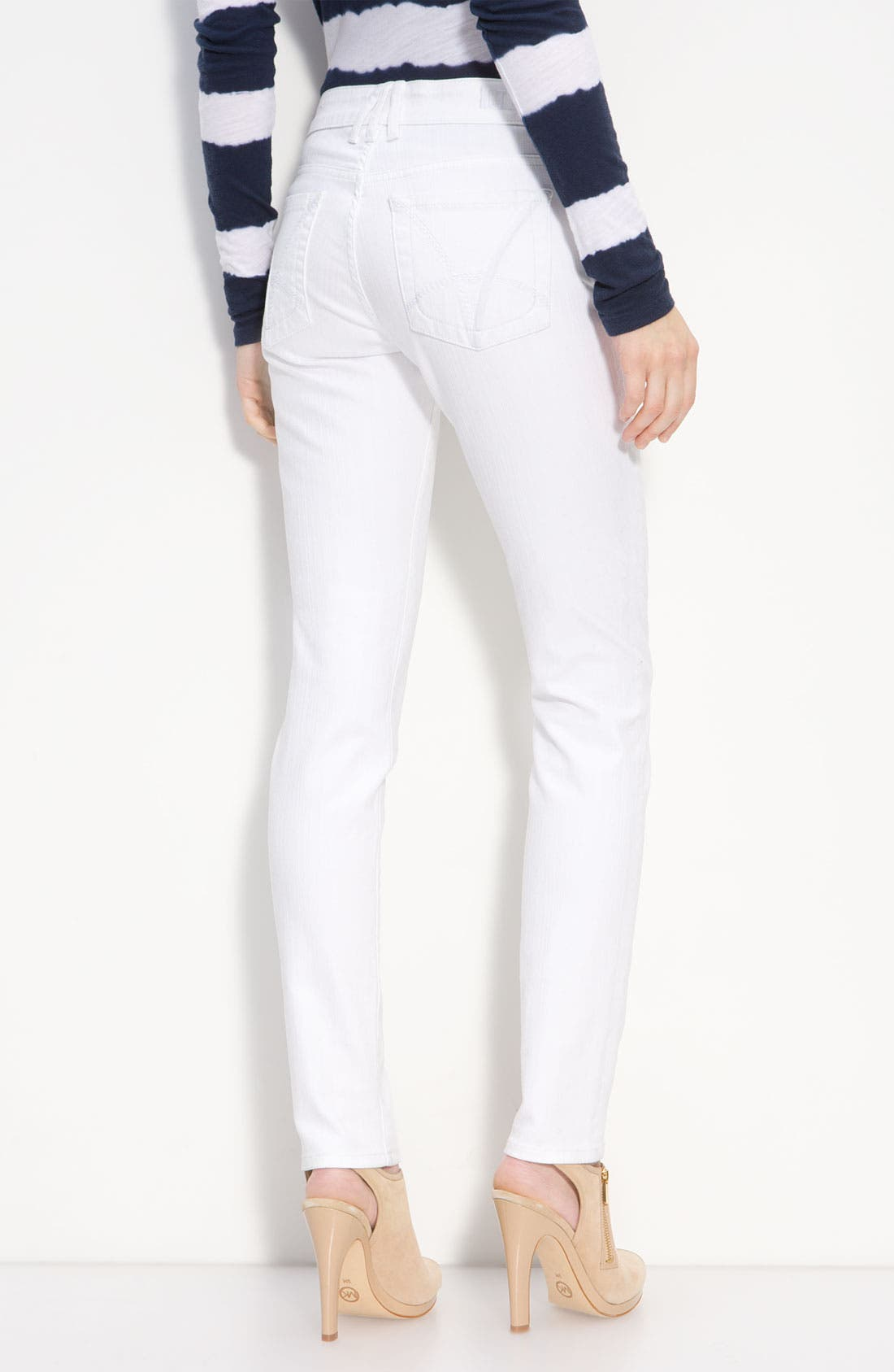 Alternate Image 2  - KUT from the Kloth Skinny Jeans (White Wash)