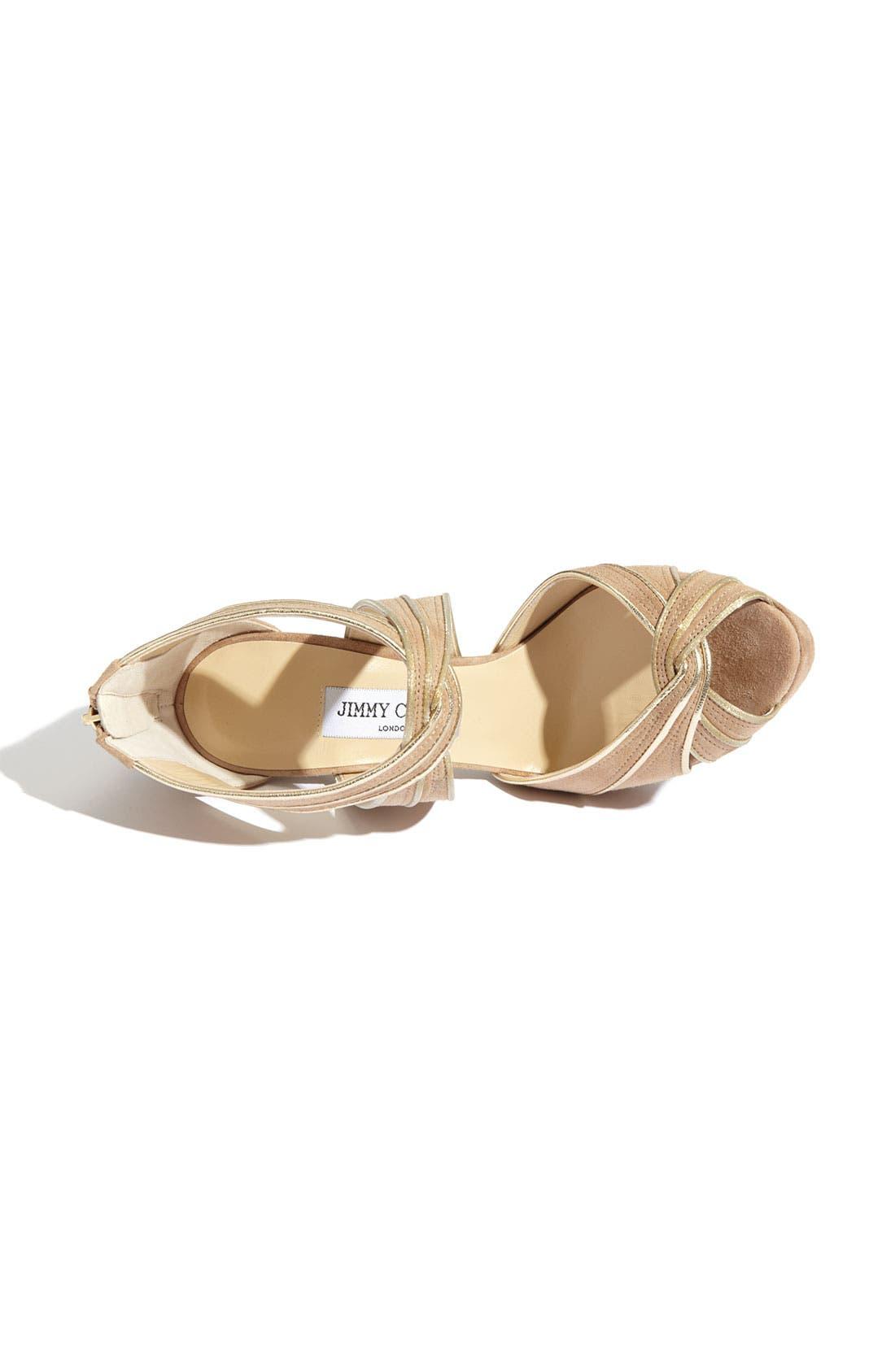 Alternate Image 3  - Jimmy Choo 'Koko' Piped Platform Sandal
