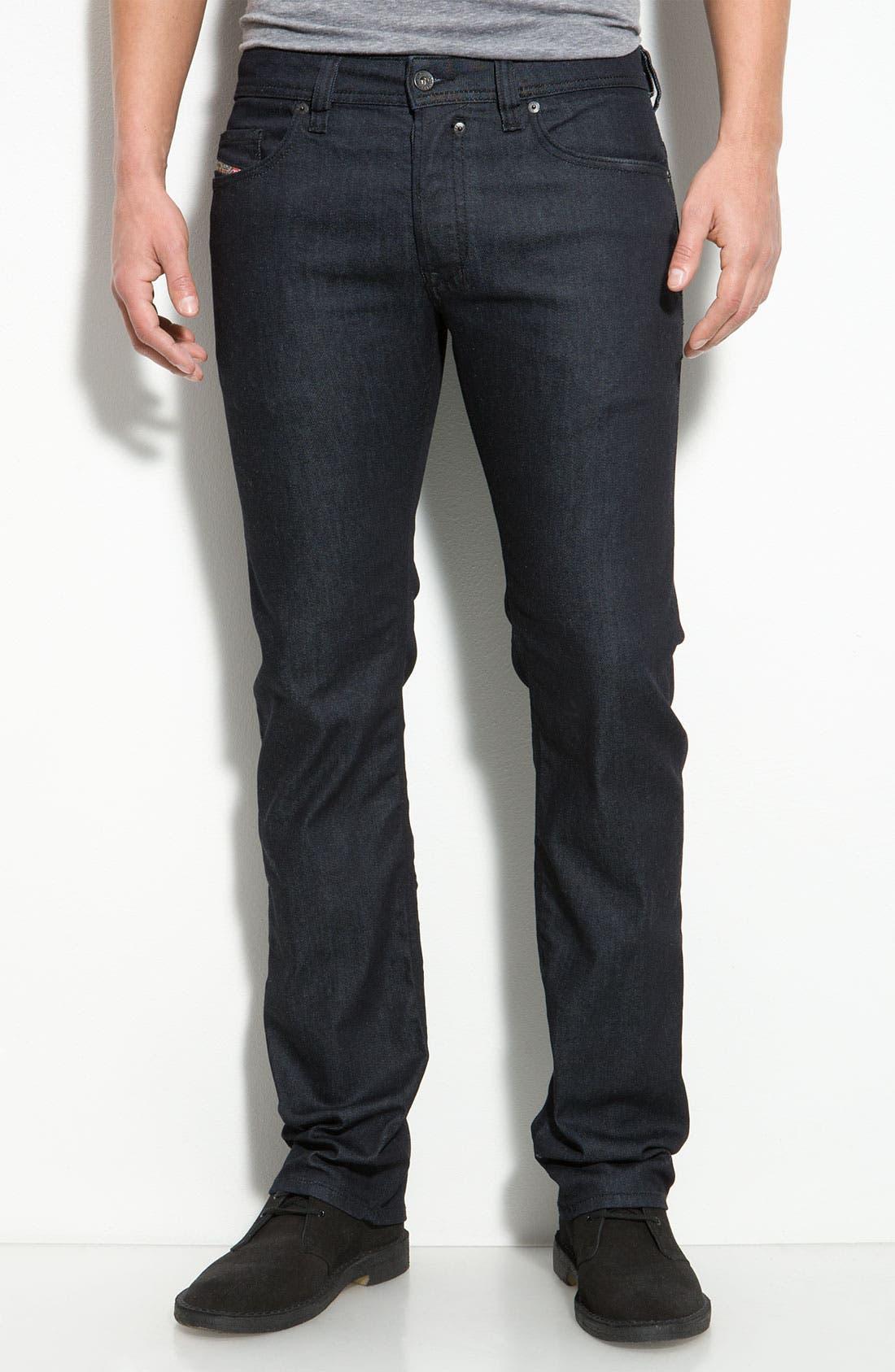 Alternate Image 2  - DIESEL® 'Safado' Slim Straight Leg Jeans (AA8)