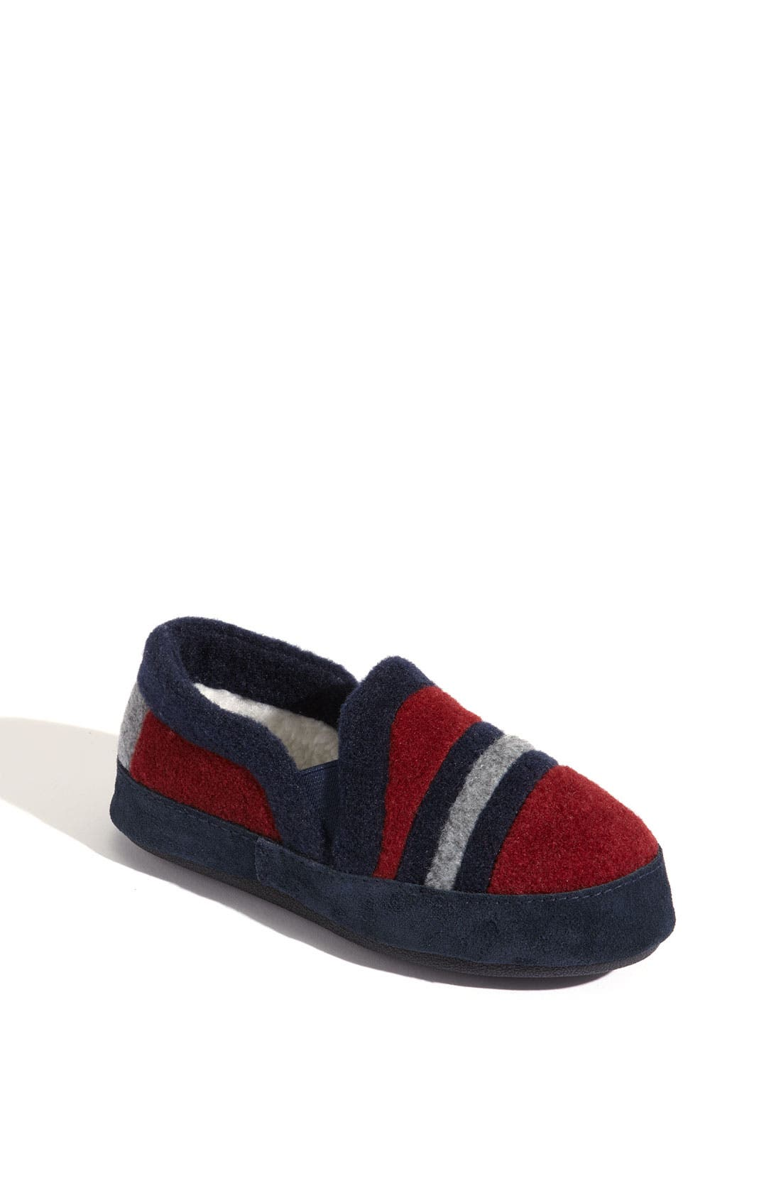 Alternate Image 1 Selected - Acorn 'Colby Moc' Slipper (Toddler, Little Kid & Big Kid)