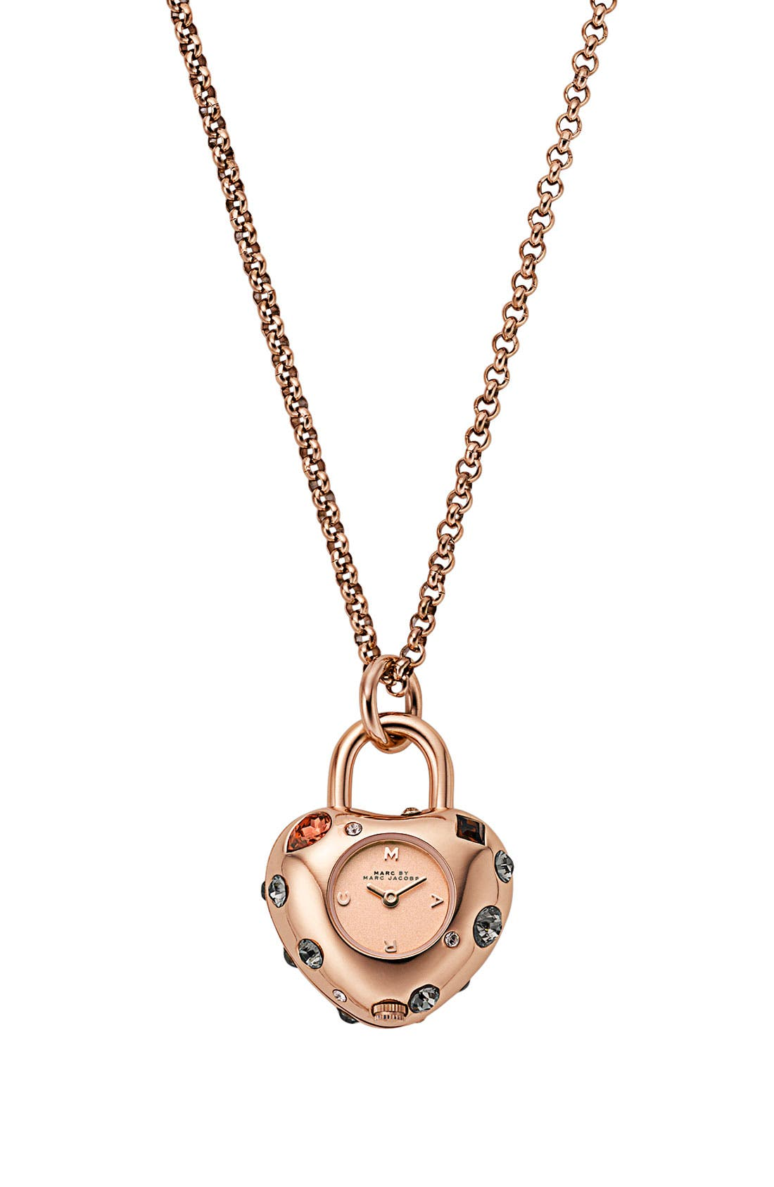 Main Image - MARC BY MARC JACOBS 'Dexter Bauble' Watch Necklace