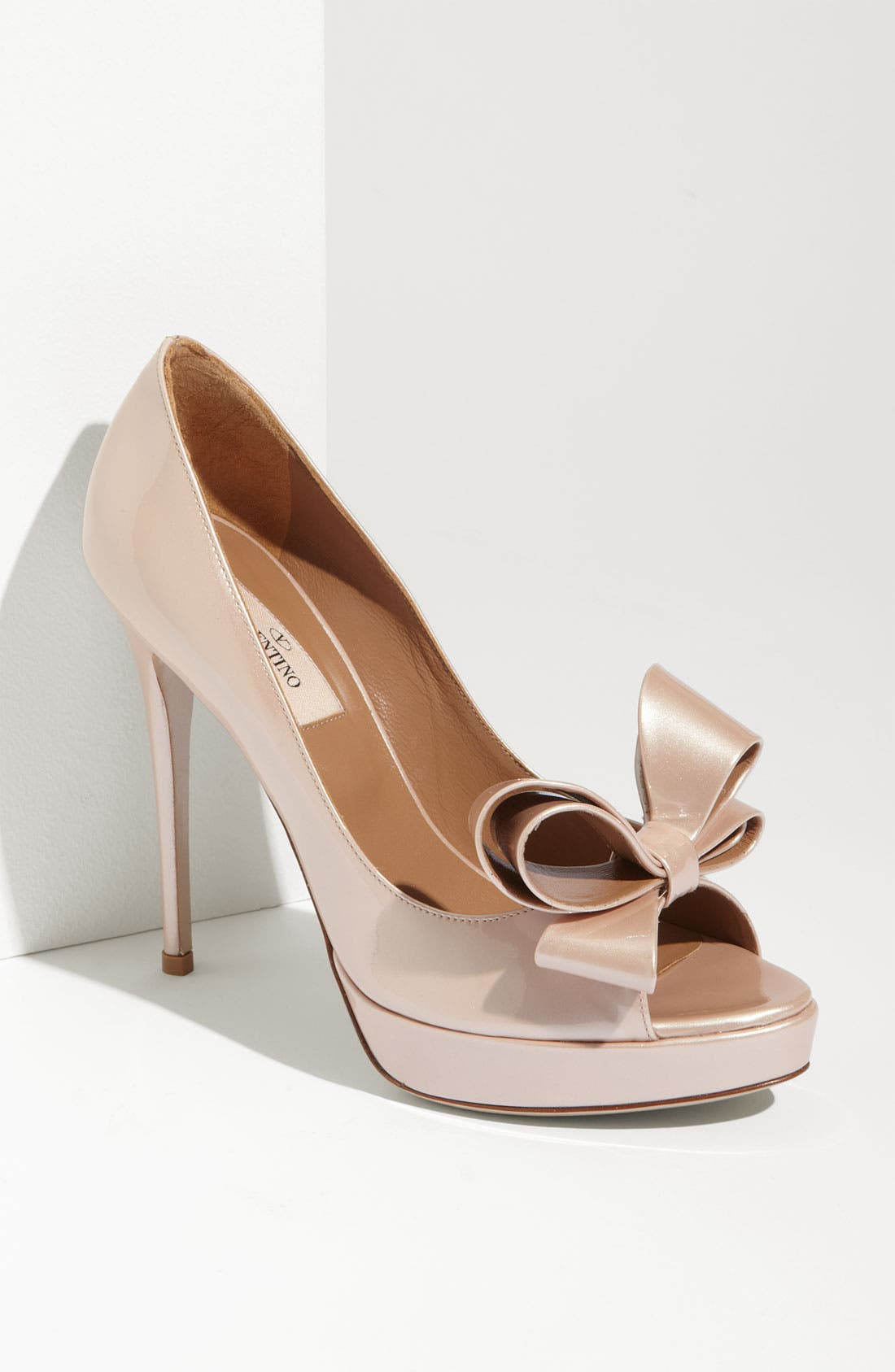 Alternate Image 1 Selected - Valentino Couture Bow Pump
