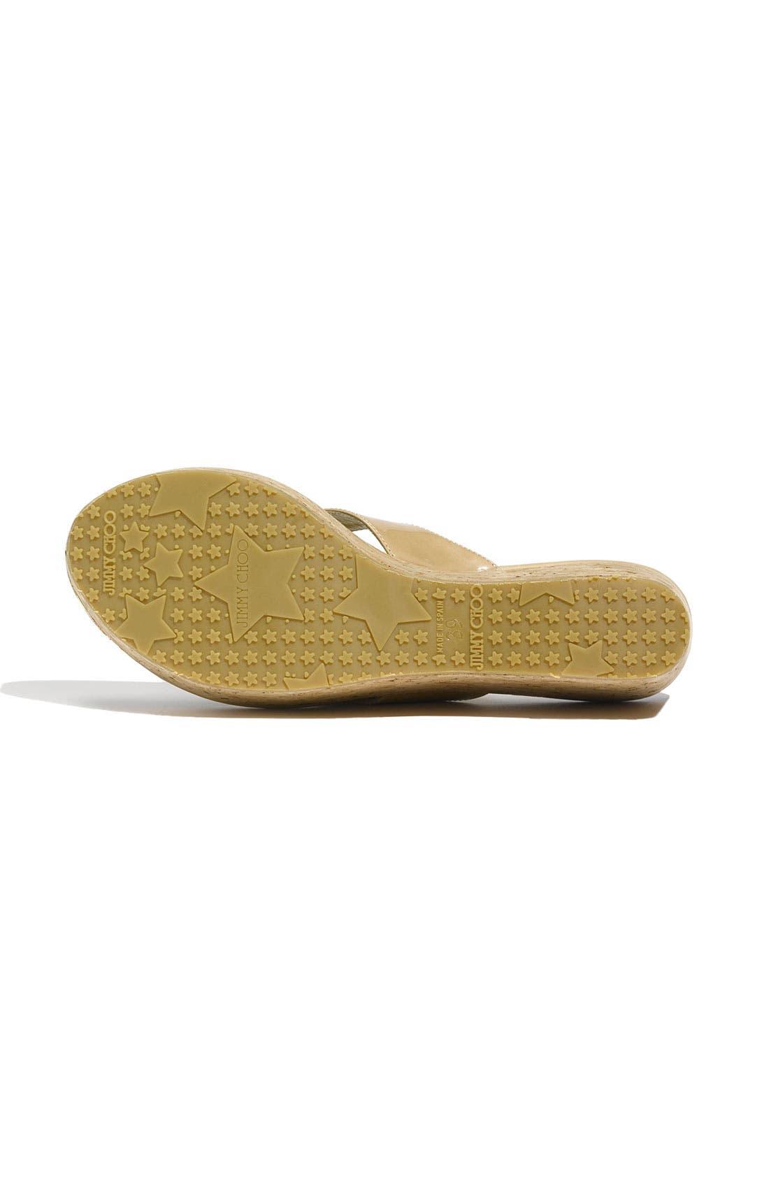 Alternate Image 4  - Jimmy Choo 'Pathos Pat' Cork Wedge Sandal