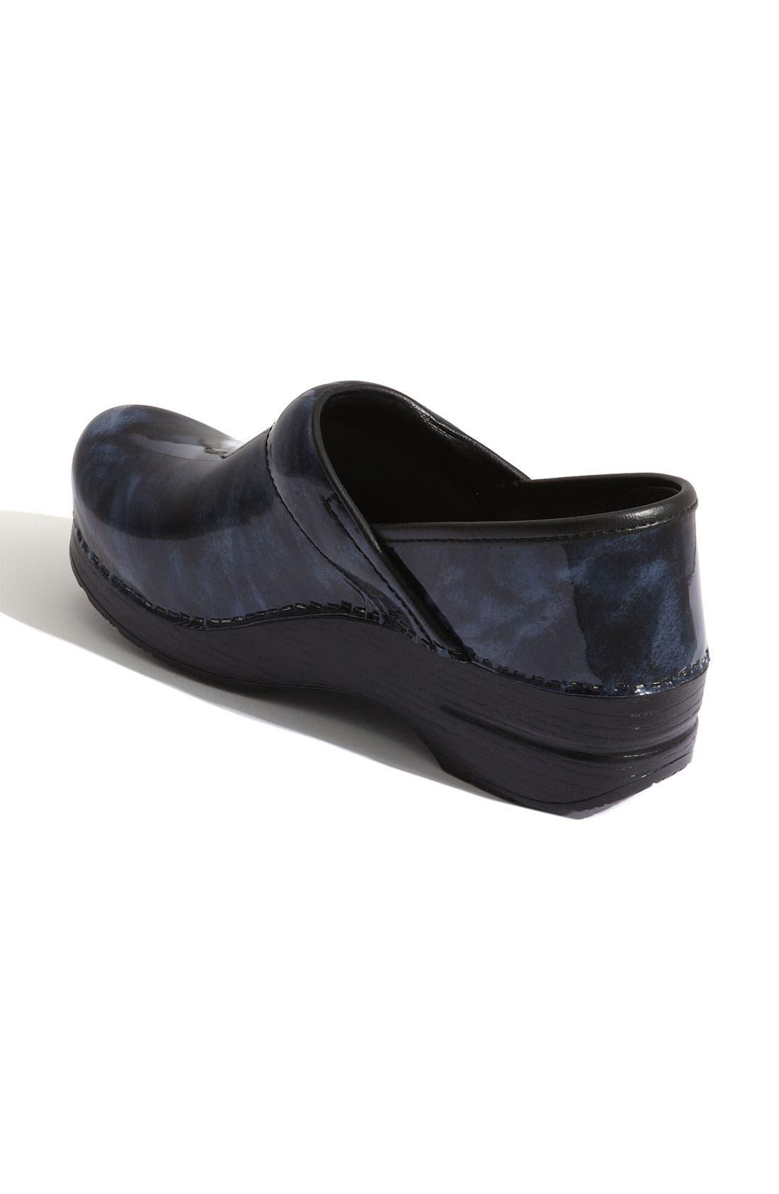 Alternate Image 2  - Dansko 'Professional' Marbled Patent Leather Clog