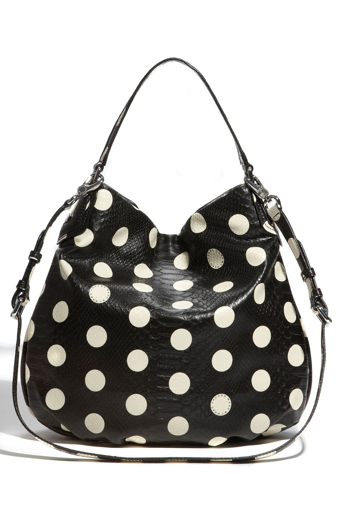 Alternate Image 4  - MARC BY MARC JACOBS 'Dotty Snake Hillier' Faux Leather Hobo