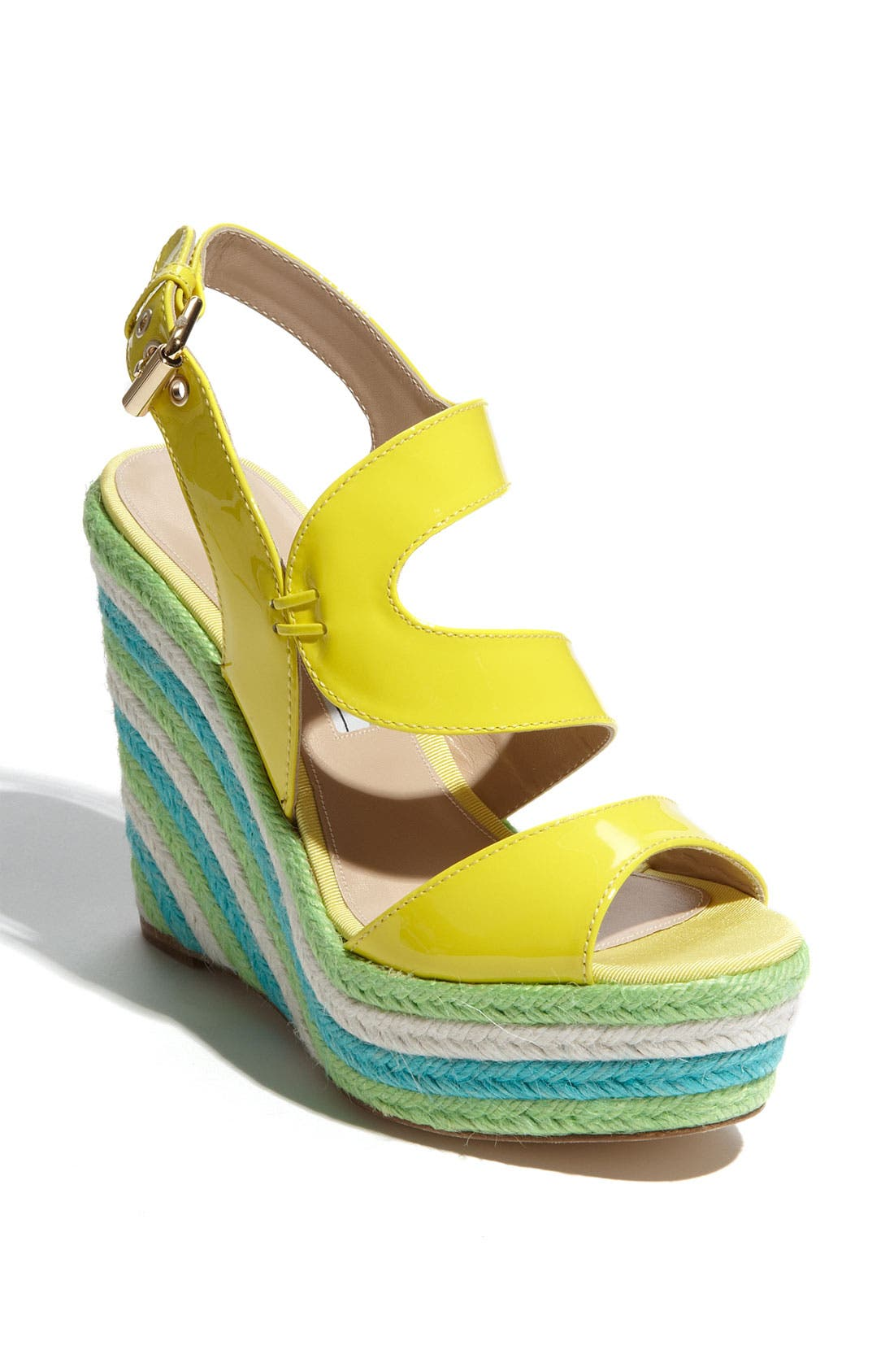 Alternate Image 1 Selected - Brian Atwood 'Ariane' Espadrille Wedge Sandal