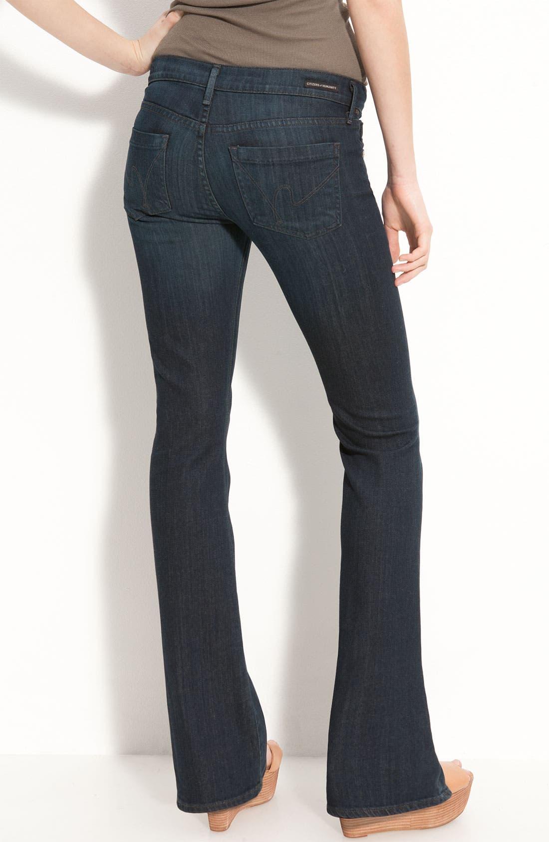 Alternate Image 1 Selected - Citizens of Humanity 'Dita' Bootcut Jeans (Jupiter Wash) (Petite)
