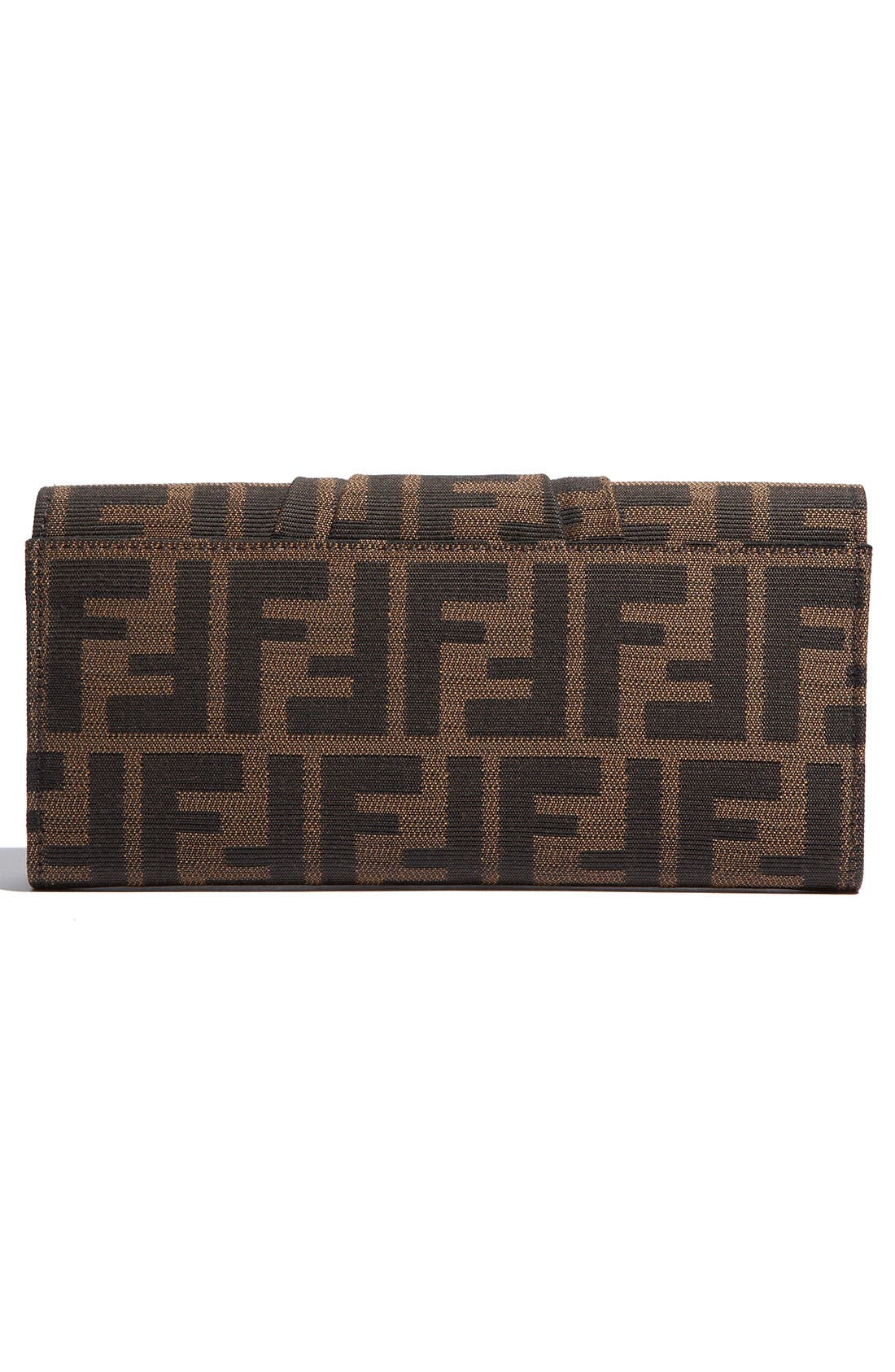 Alternate Image 3  - Fendi 'Zucca Mia' Clutch Wallet