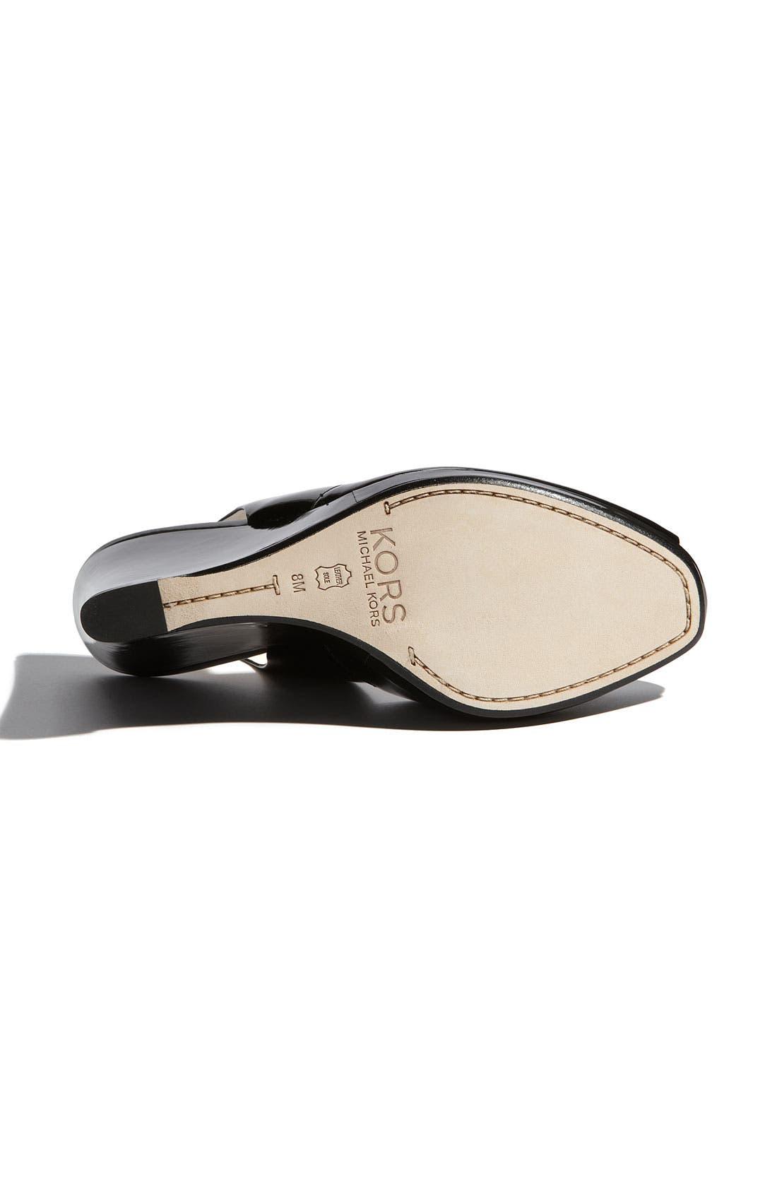 Alternate Image 4  - KORS Michael Kors 'Vivian' Wedge Sandal