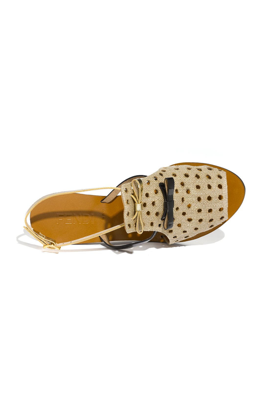 Alternate Image 3  - Fendi Double Bow Sandal