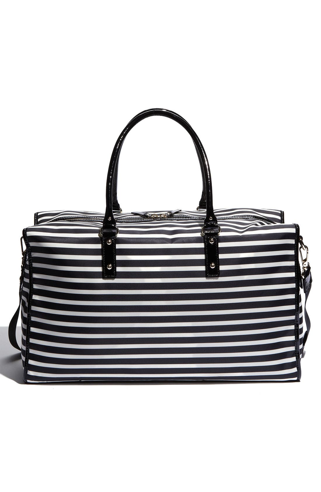 Alternate Image 4  - kate spade new york 'adara' stripe nylon tote