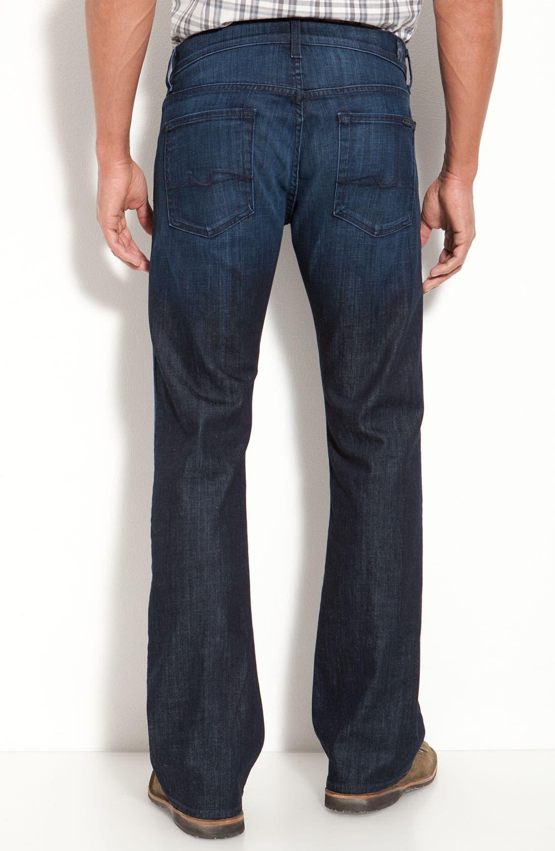 Alternate Image 2  - 7 For All Mankind® 'Brett' Relaxed Bootcut Jeans (Rose Ave)