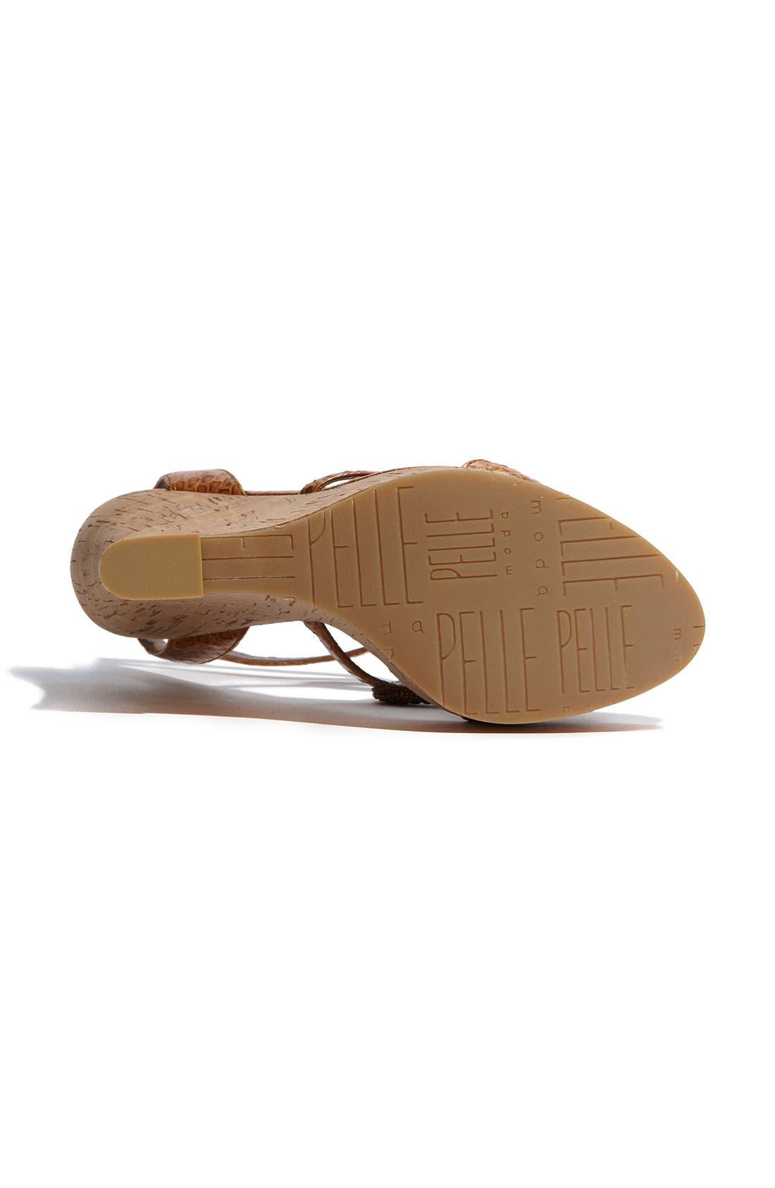 Alternate Image 4  - Pelle Moda 'Niland' Wedge Sandal