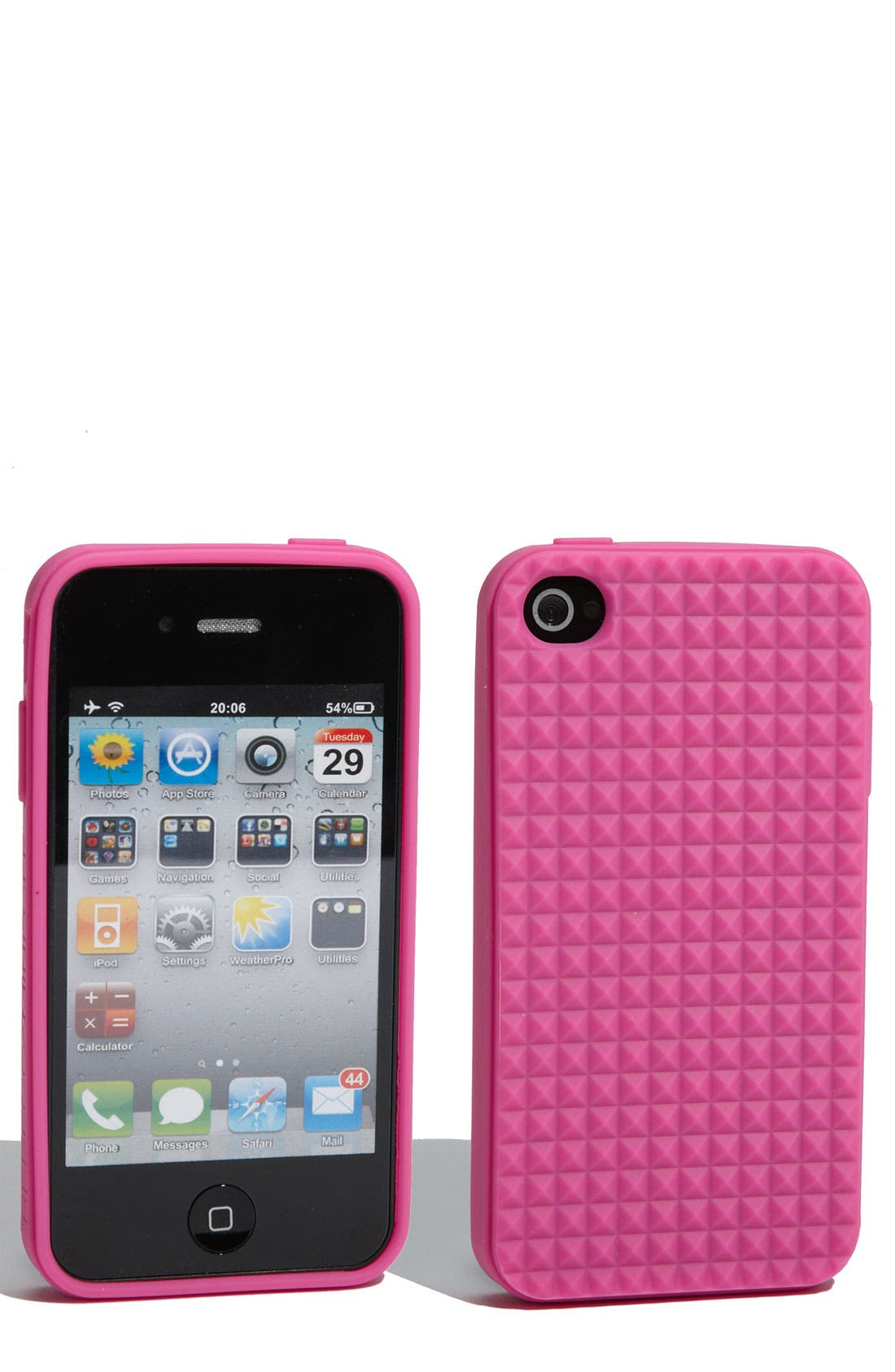 Alternate Image 1 Selected - Rebecca Minkoff 'Pyramid Stud' iPhone 4 & 4S Case