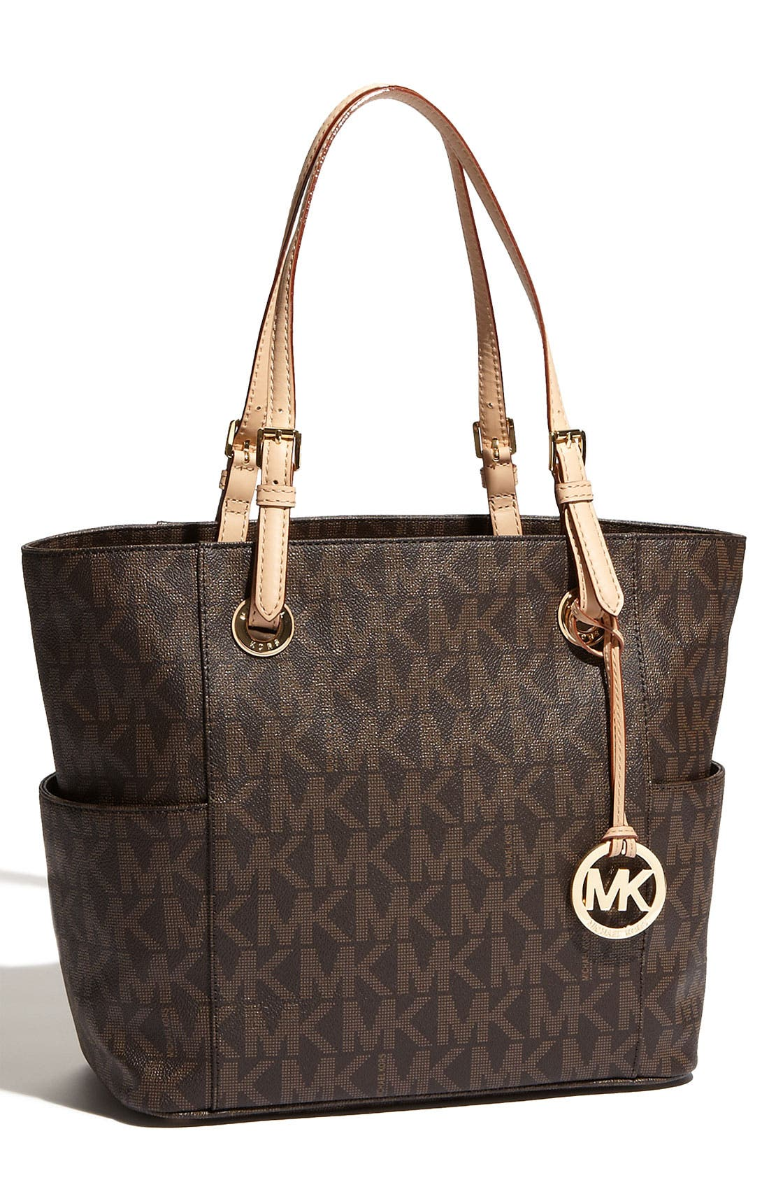 Alternate Image 1 Selected - MICHAEL Michael Kors 'Jet Set Signature' Tote