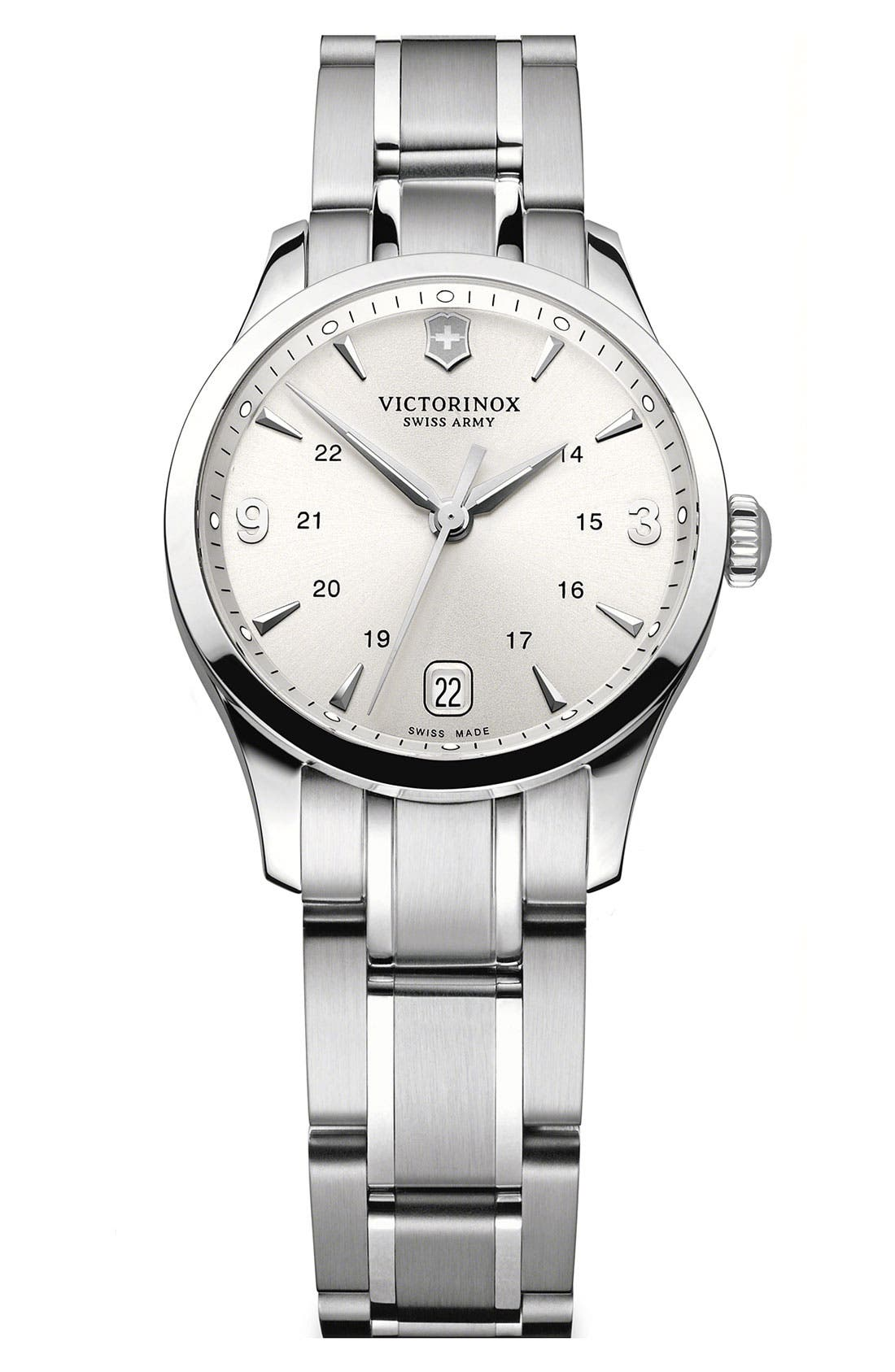 Main Image - Victorinox Swiss Army® 'Alliance' Bracelet Watch, 30mm