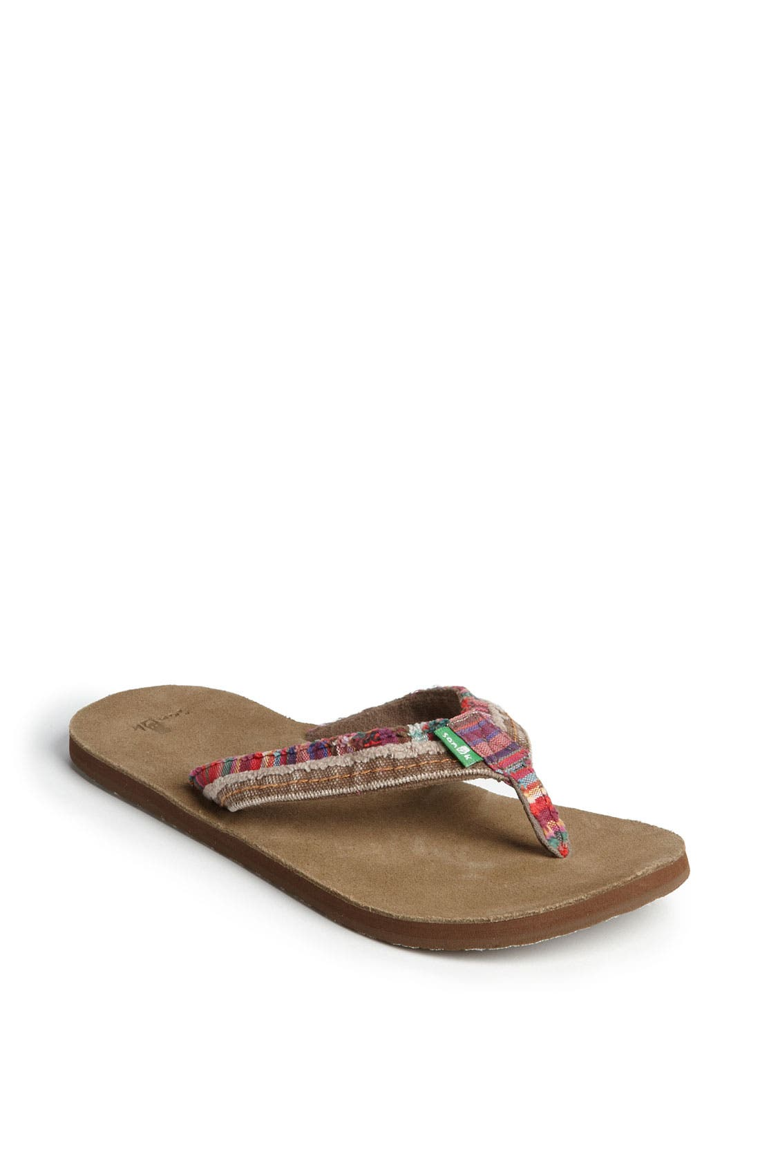 Alternate Image 1 Selected - Sanuk 'Fraid Too' Flip Flop (Women)