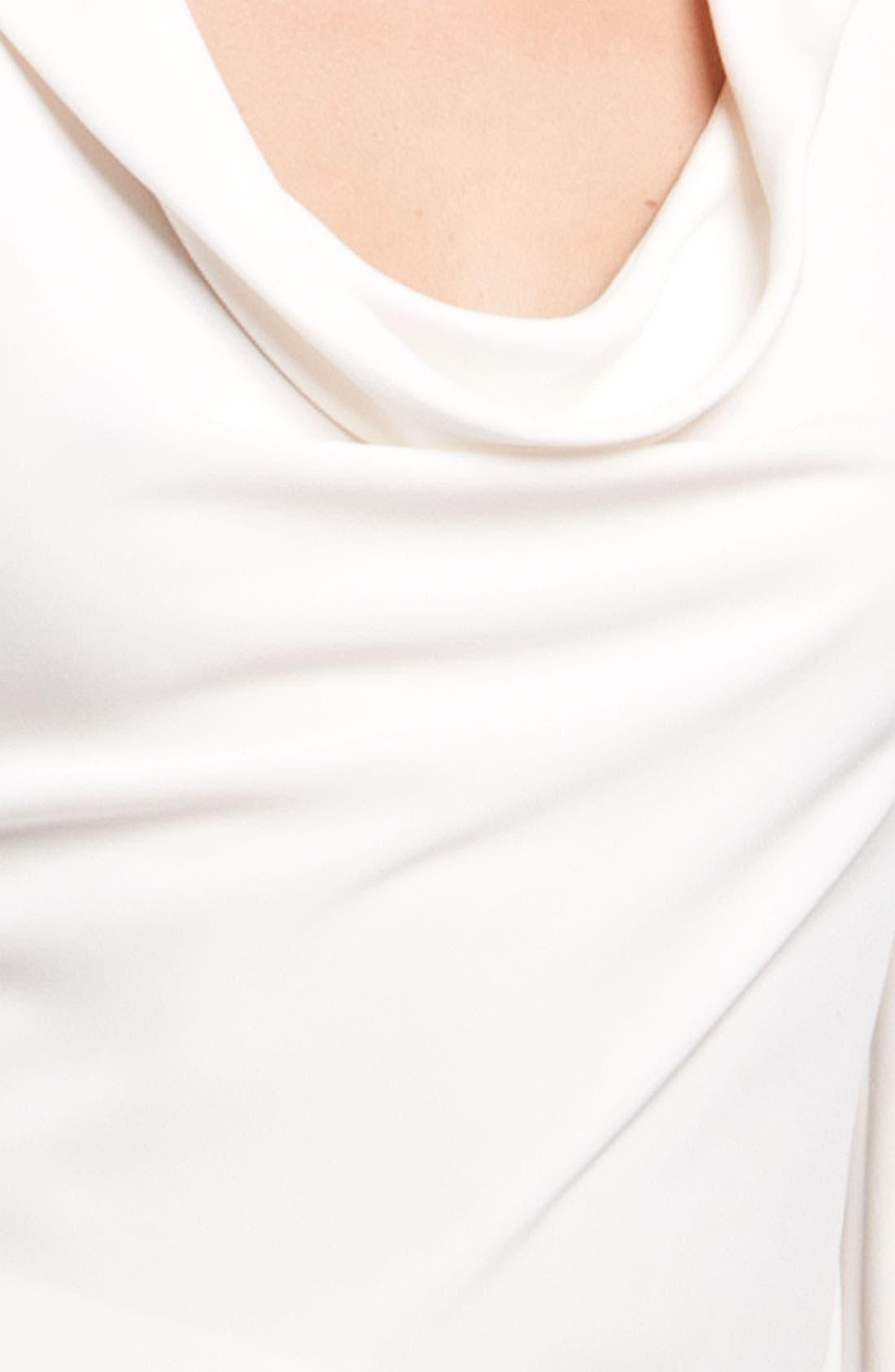Alternate Image 3  - St. John Collection Cowl Notch Collar Blouse