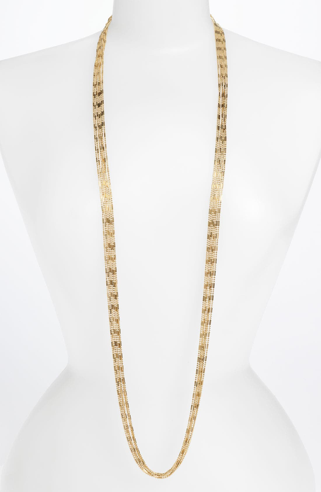Main Image - Tasha Long Multi Chain Necklace