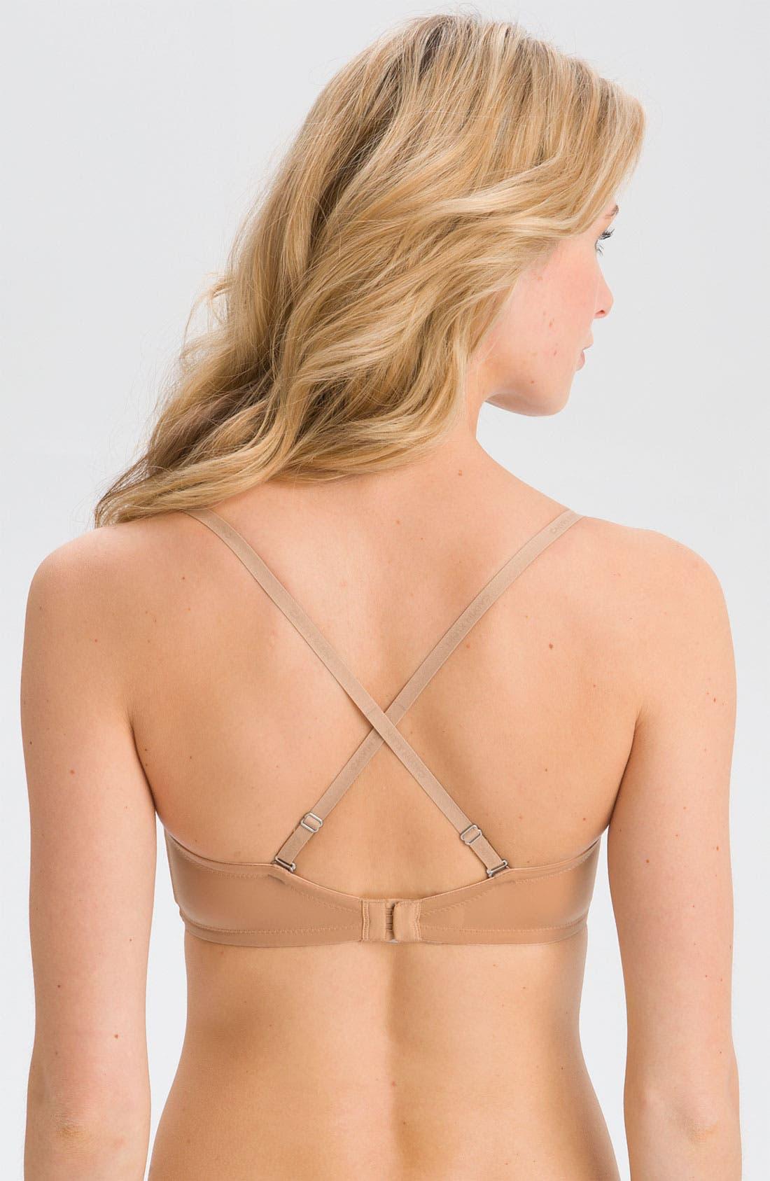 Alternate Image 2  - Calvin Klein 'Naked Glamour' Convertible Strapless Push-Up Bra