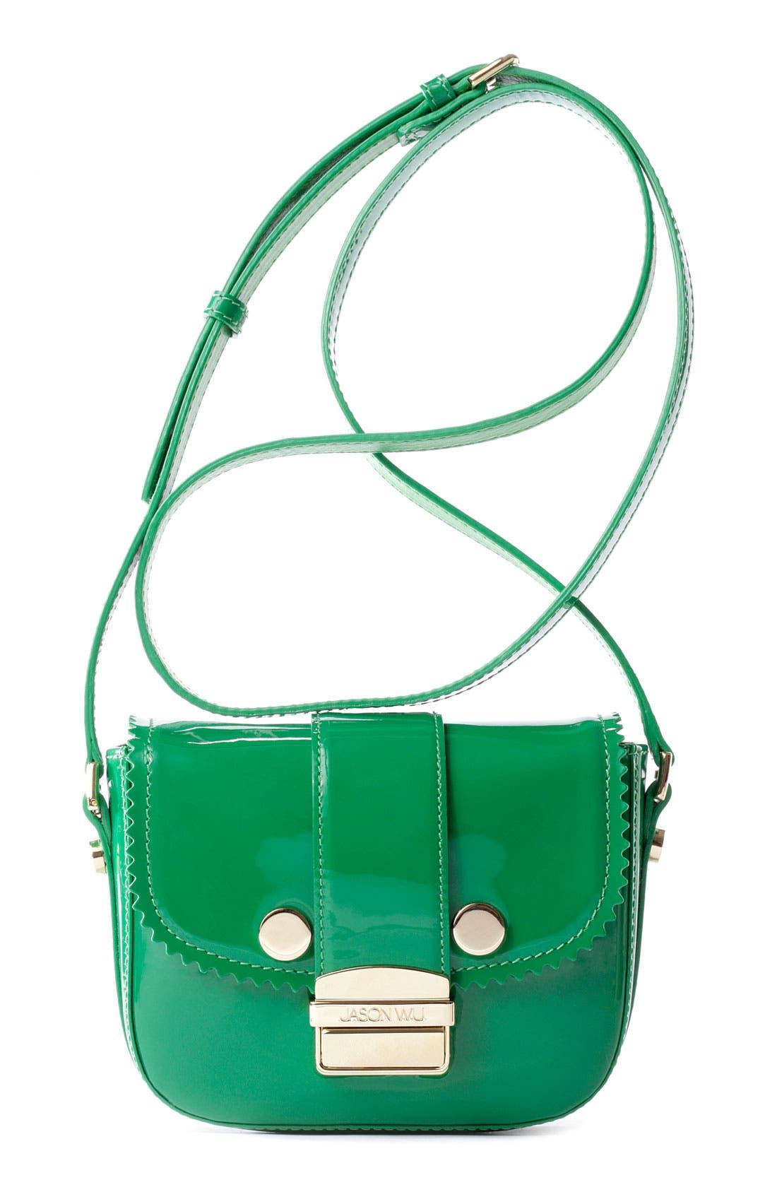 Alternate Image 1 Selected - Jason Wu 'Mini Miss Wu' Patent Leather Crossbody Bag