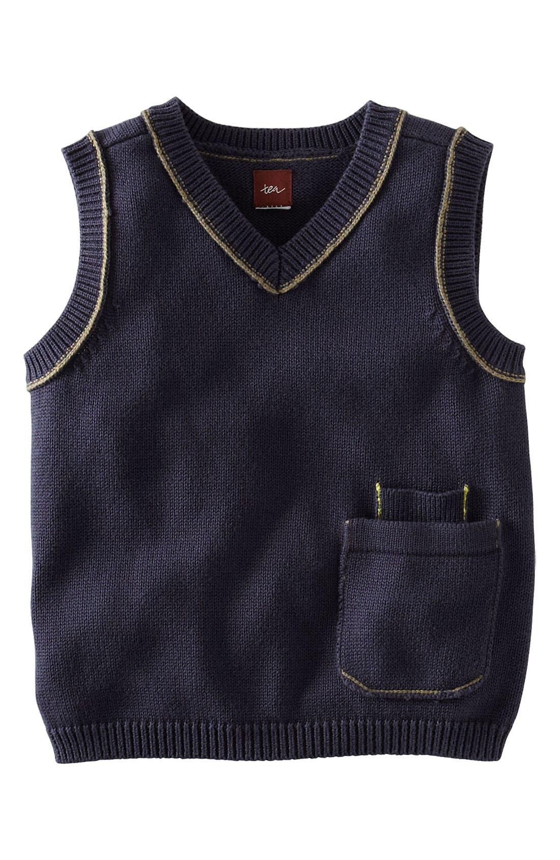 Main Image - Tea Collection 'Perfect Pocket' Vest (Infant)