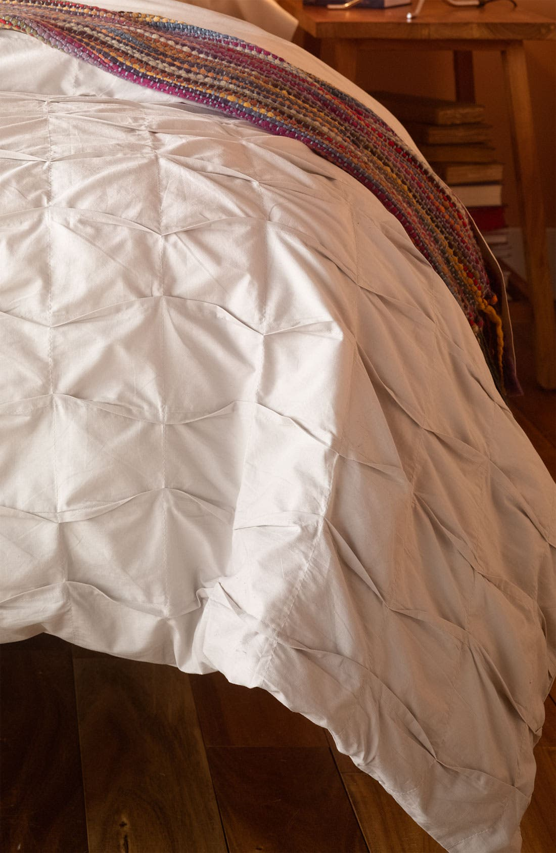 Main Image - Nordstrom at Home 'Box Pleat' Duvet Cover