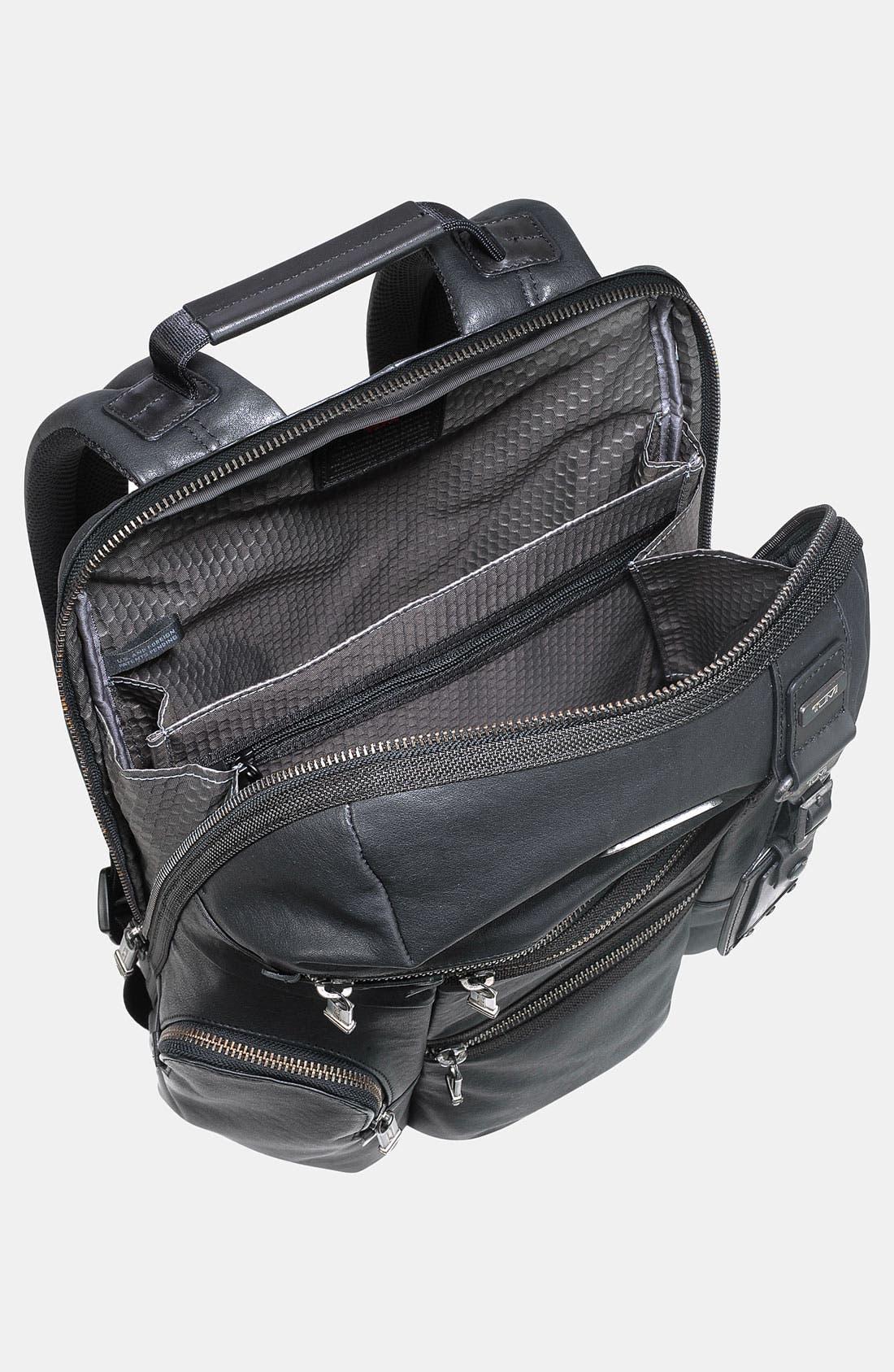 Alternate Image 3  - Tumi 'Alpha Bravo - Knox' Leather Backpack