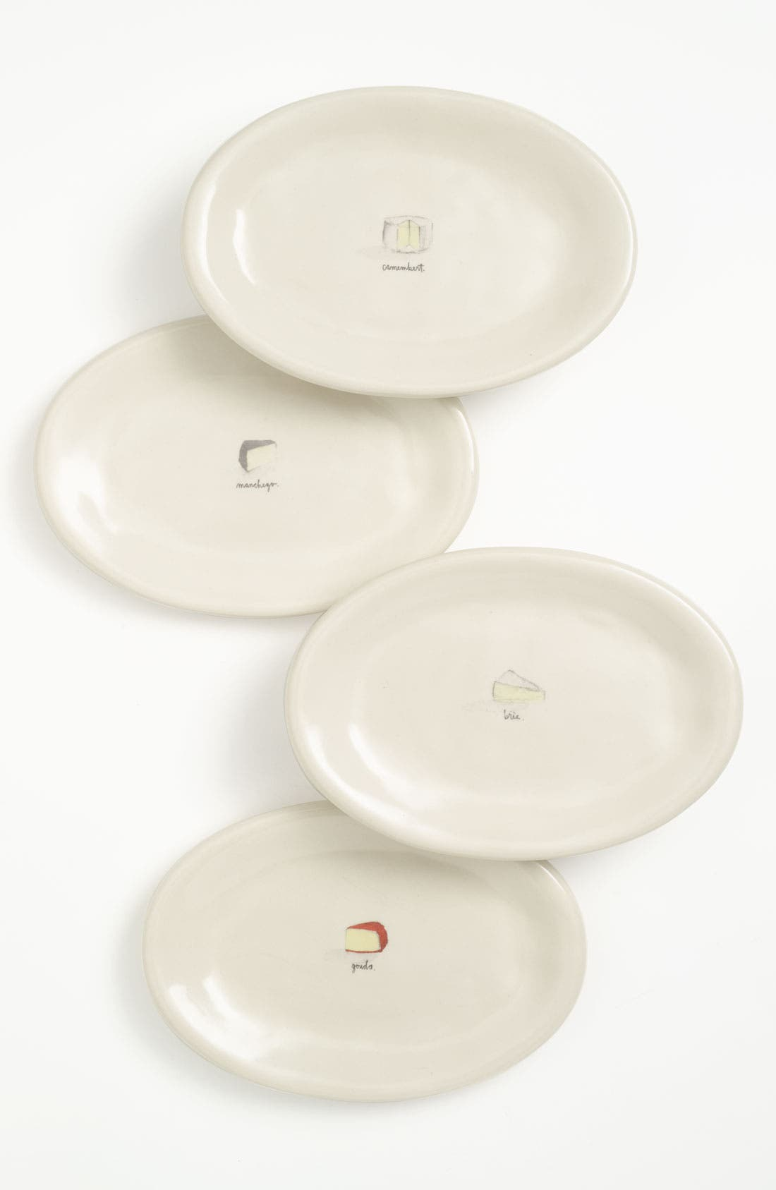 Main Image - Rae Dunn by Magenta Assorted Cheese Plates (Set of 4)
