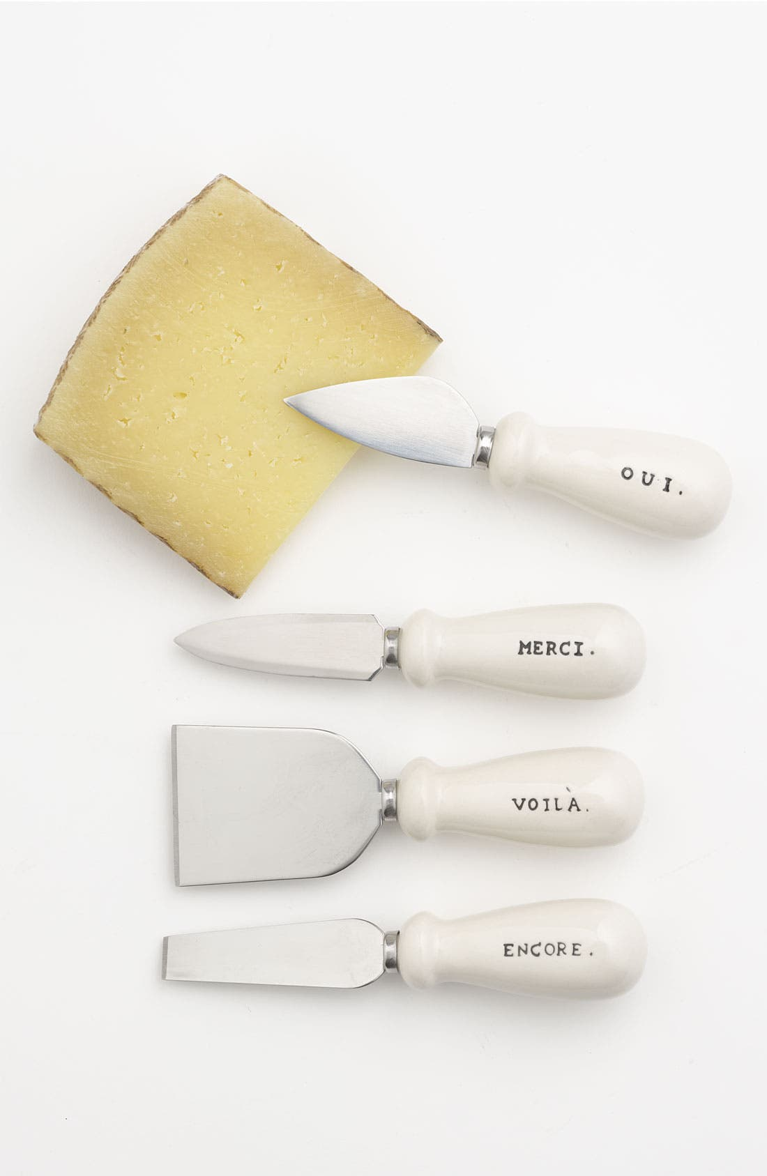 Alternate Image 1 Selected - Rae Dunn by Magenta Cheese Knives (Set of 4)