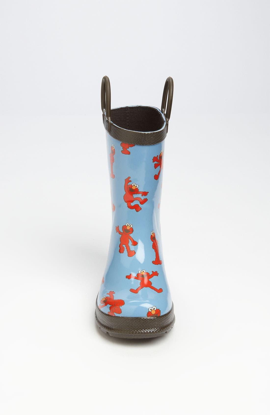 Alternate Image 3  - Hatley 'Sesame Street® - Elmo' Rain Boot (Walker & Toddler)