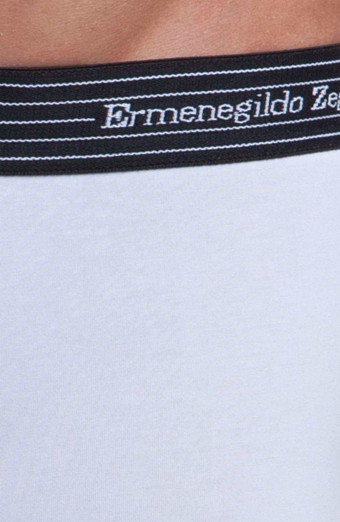 Alternate Image 2  - Ermenegildo Zegna Stretch Cotton Trunks