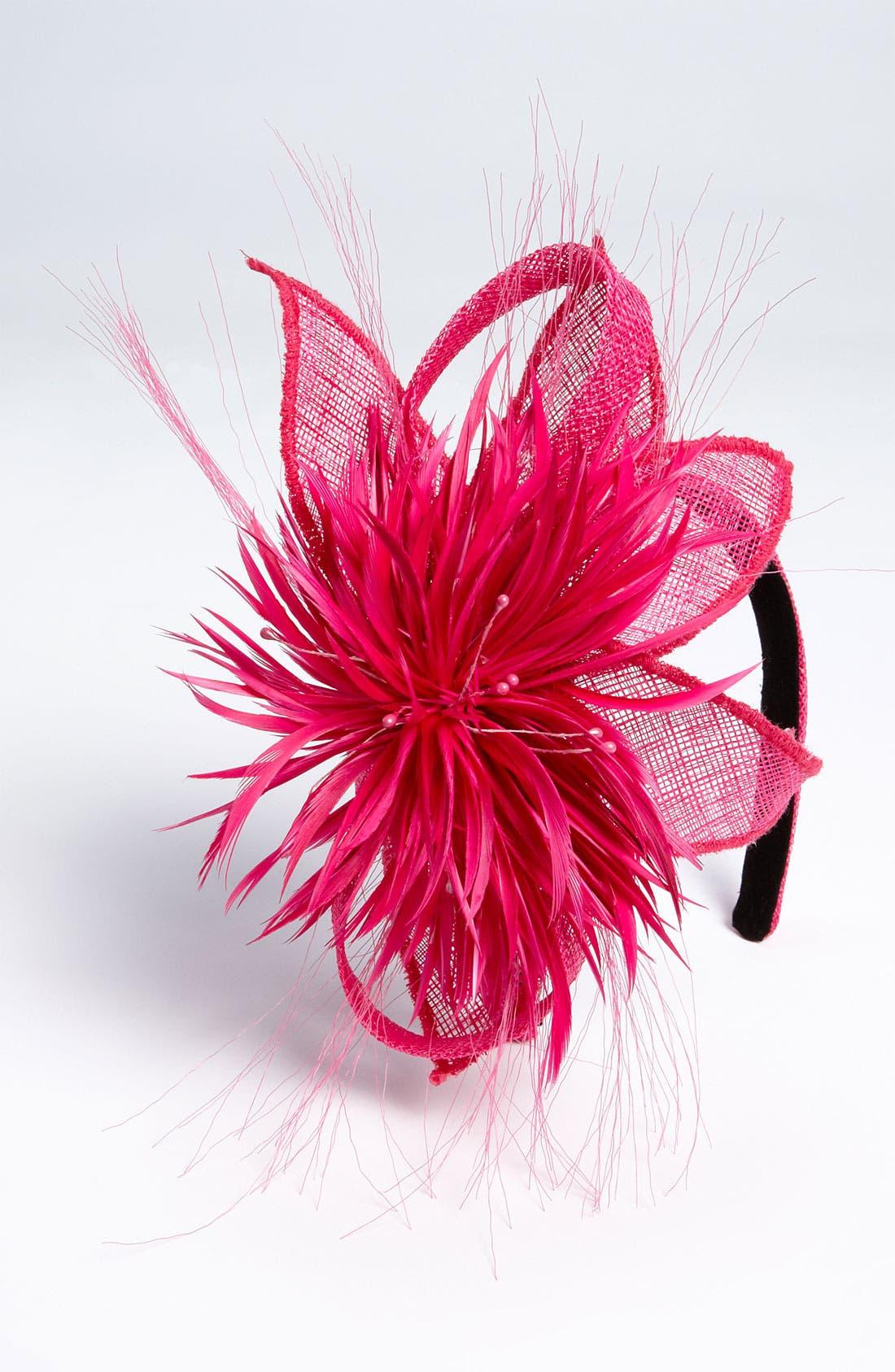 Main Image - Tasha 'Sinamay Derby' Flower Headband