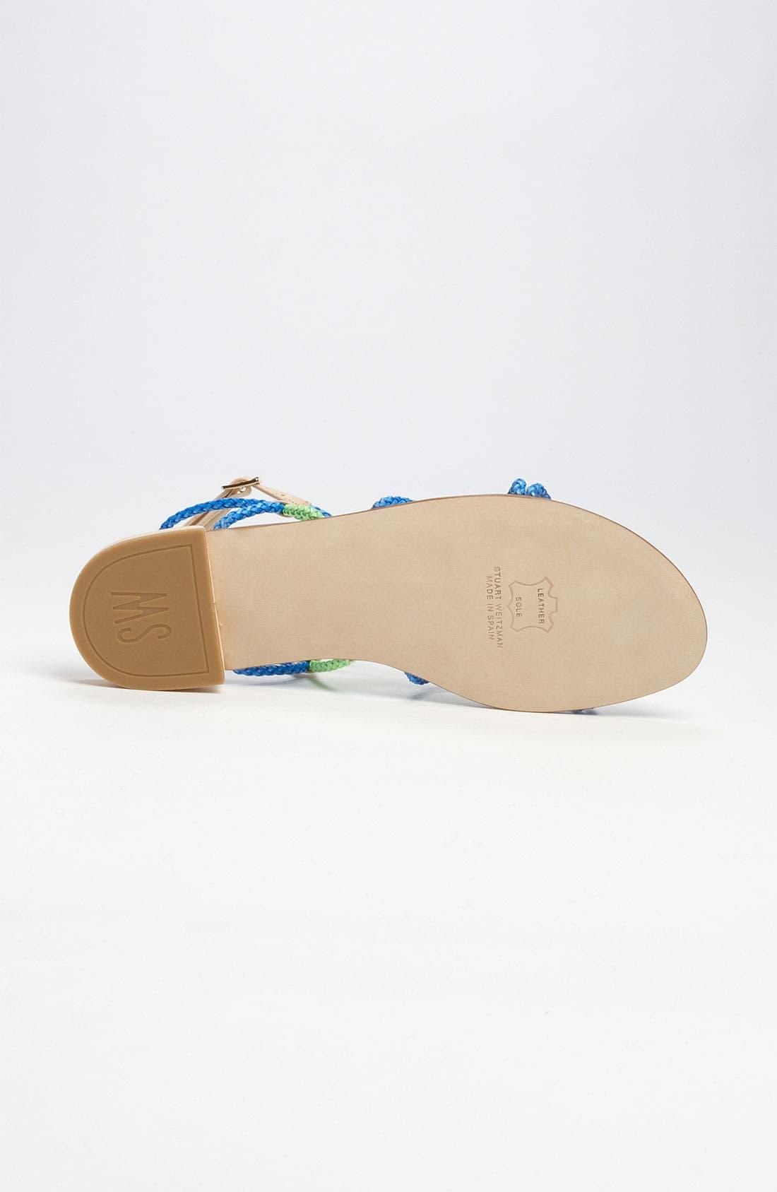 Alternate Image 4  - Stuart Weitzman 'Cordy' Sandal