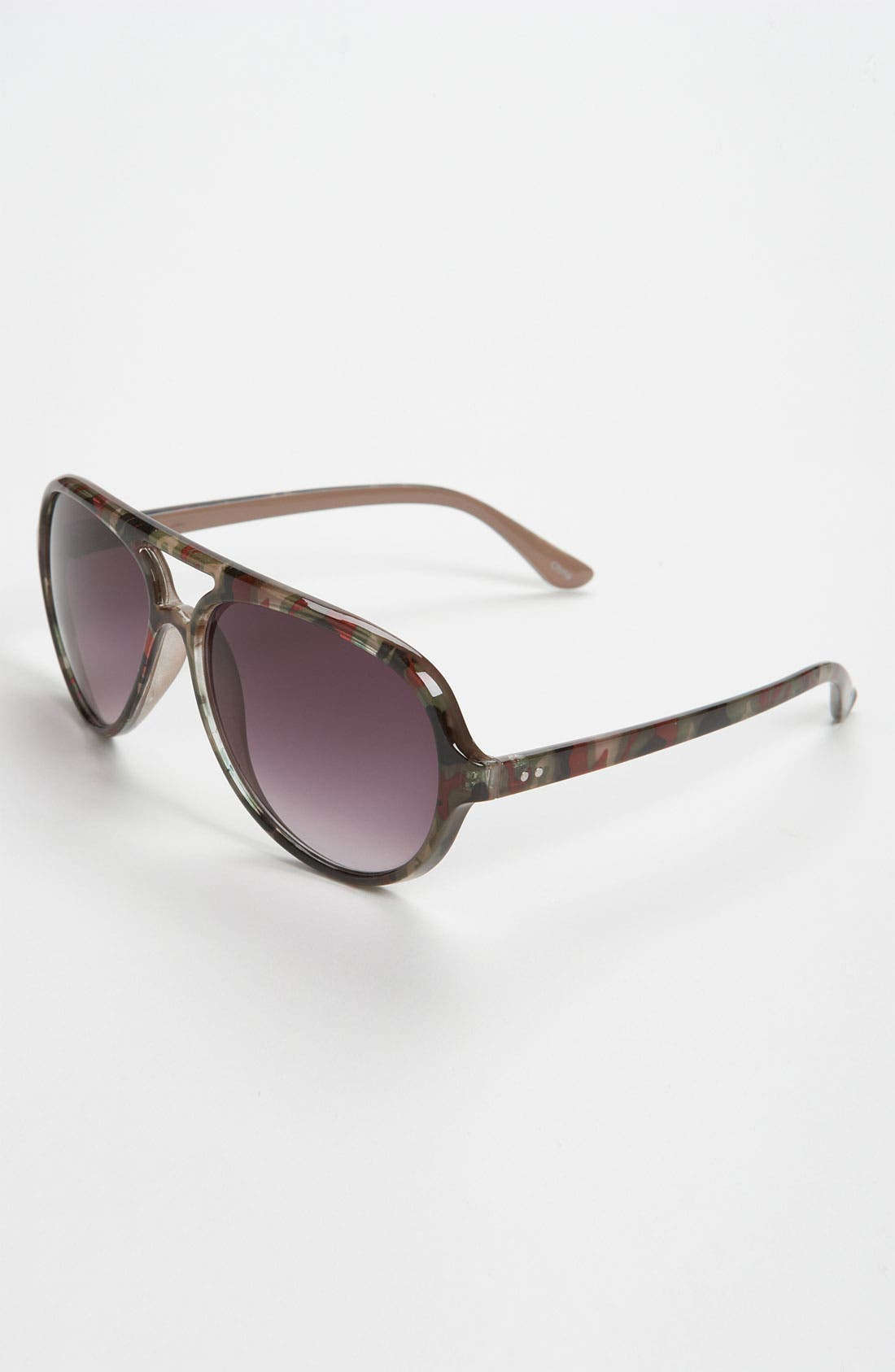 Main Image - Icon Eyewear 'Matt' Aviator Sunglasses (Big Boys)