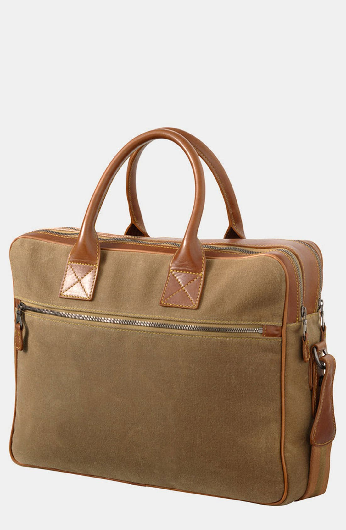Main Image - Mulholland 'Negotiator' Canvas Briefcase