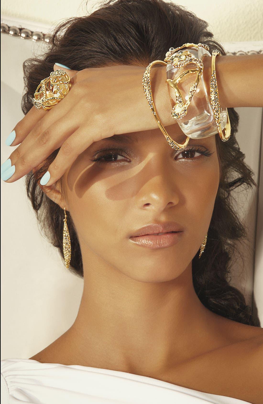 Alternate Image 2  - Alexis Bittar 'Modernist - Embraced' Hinged Bracelet