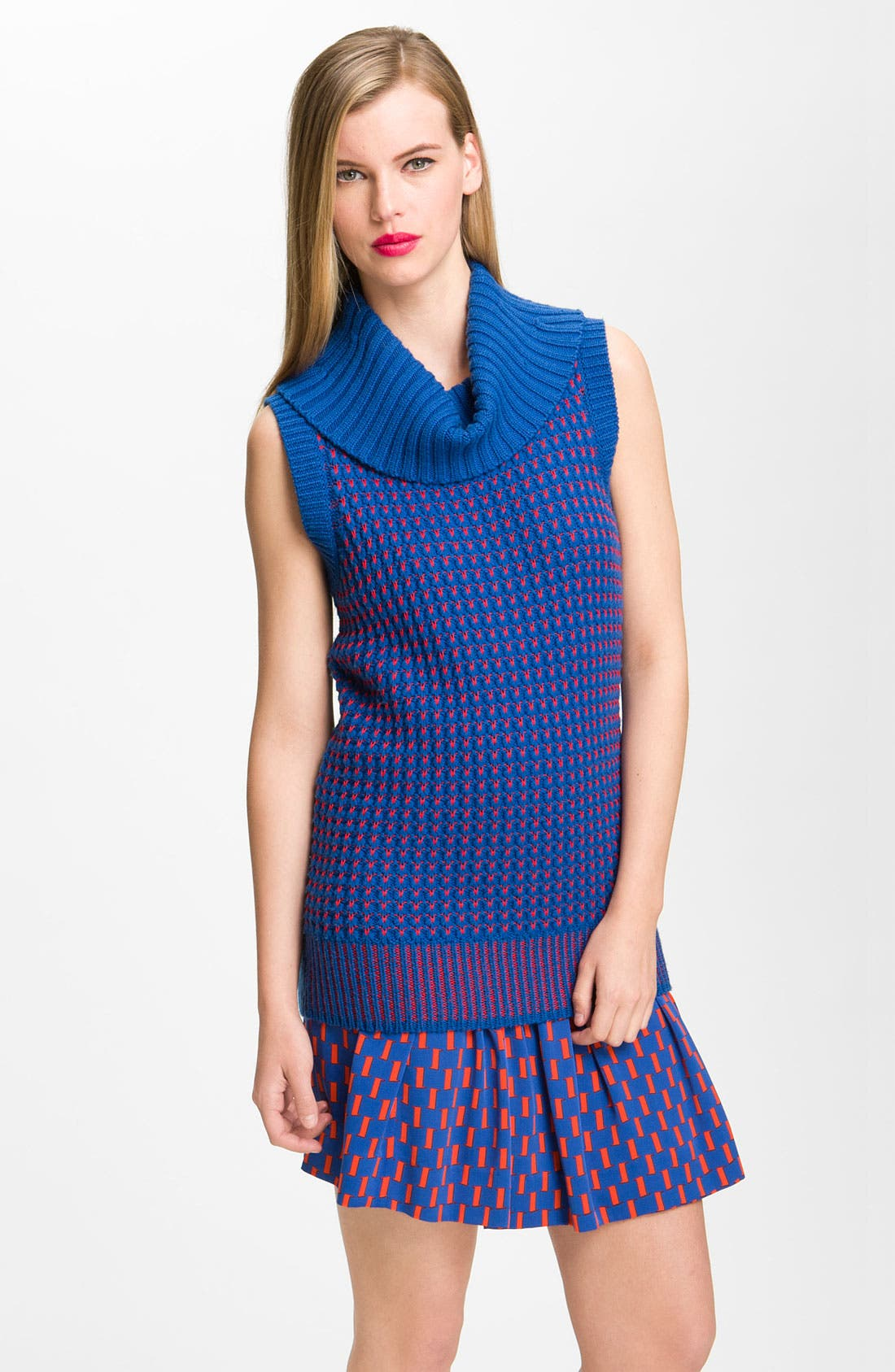 Alternate Image 1 Selected - Diane von Furstenberg 'Bede' Cowl Neck Sweater