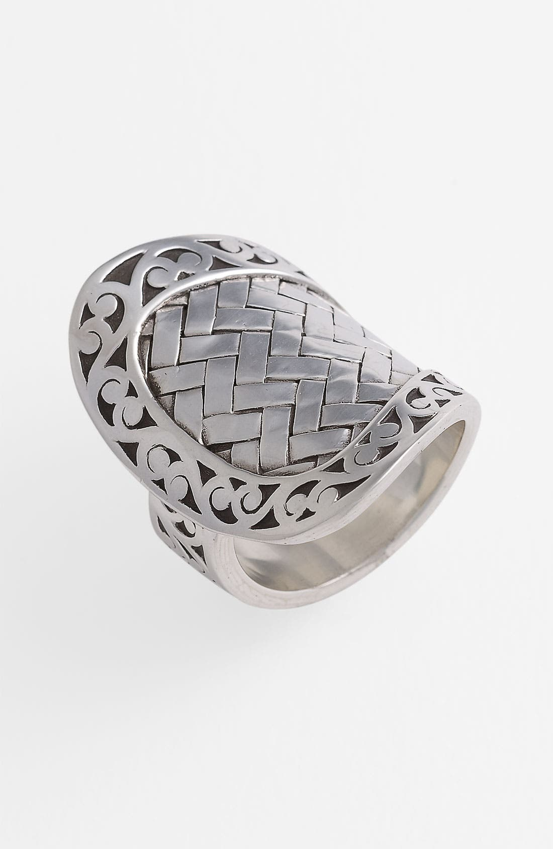 Alternate Image 1 Selected - Lois Hill 'Basket Weave' Overlap Ring