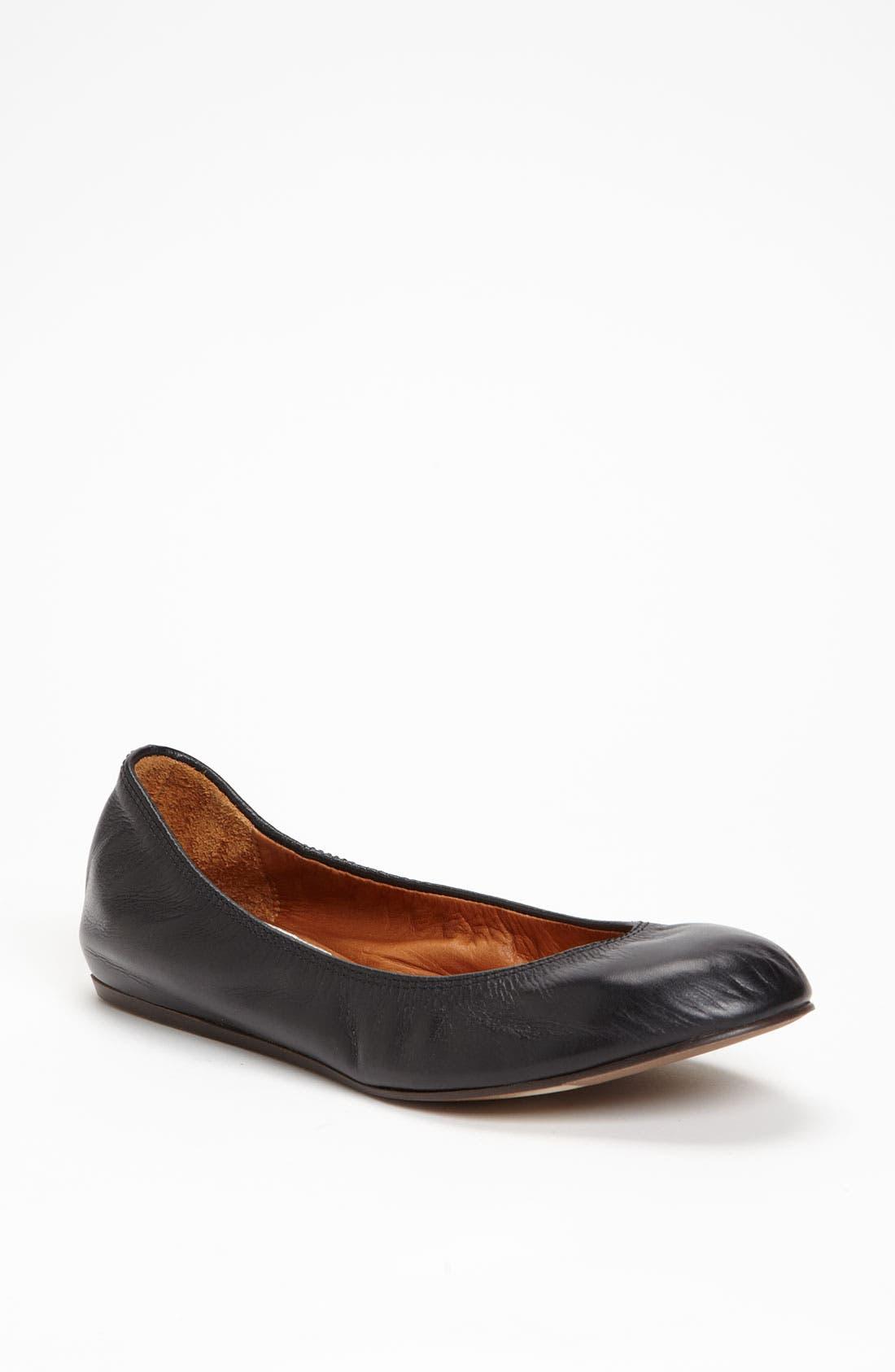 Alternate Image 1 Selected - Lanvin Leather Ballerina Flat