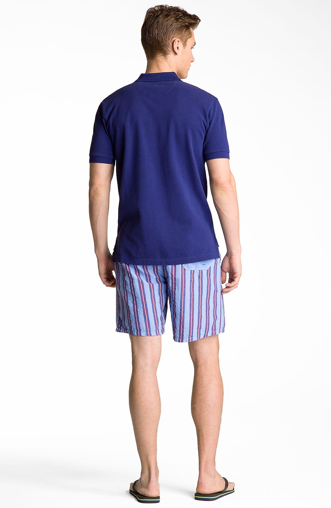 Alternate Image 5  - Brooks Brothers Washed Piqué Polo
