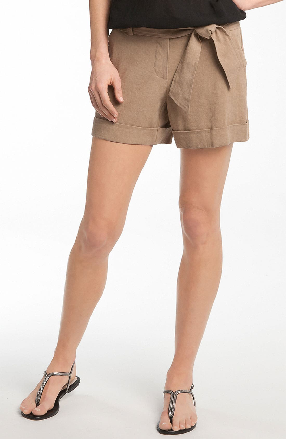Alternate Image 1 Selected - Trina Turk 'Alto Cinco' Cuff Shorts