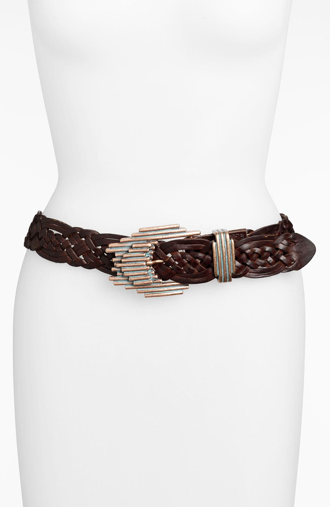 Main Image - Leatherock 'Deco' Woven Belt